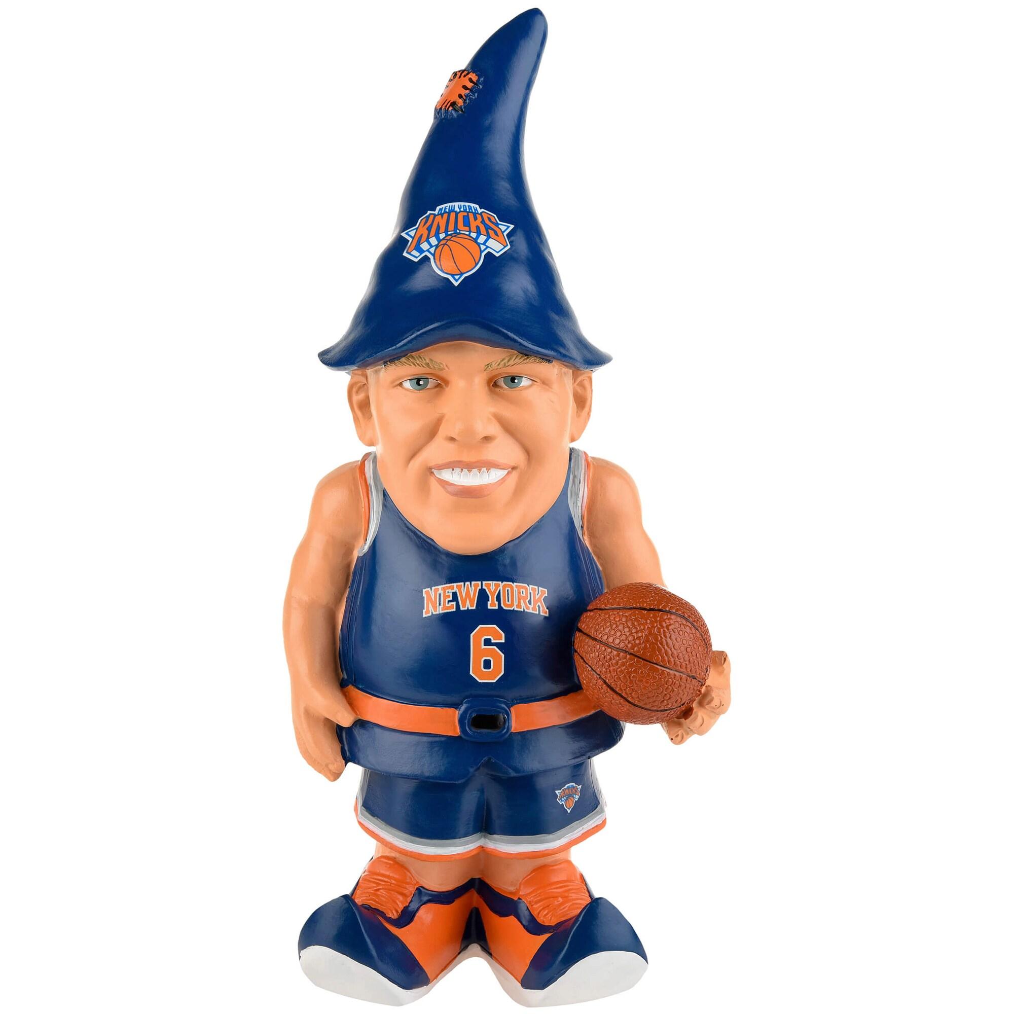 Kristaps Porzingis New York Knicks Resin Player Gnome
