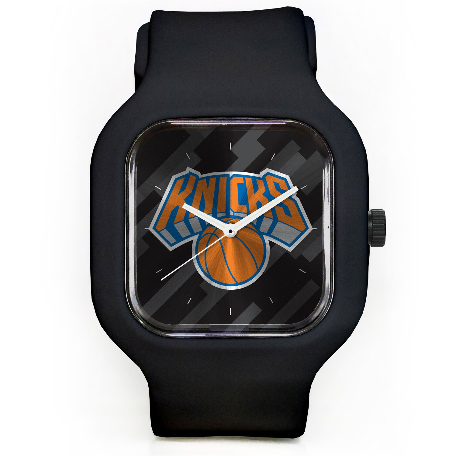New York Knicks Modify Watches Unisex Silicone Watch - Black