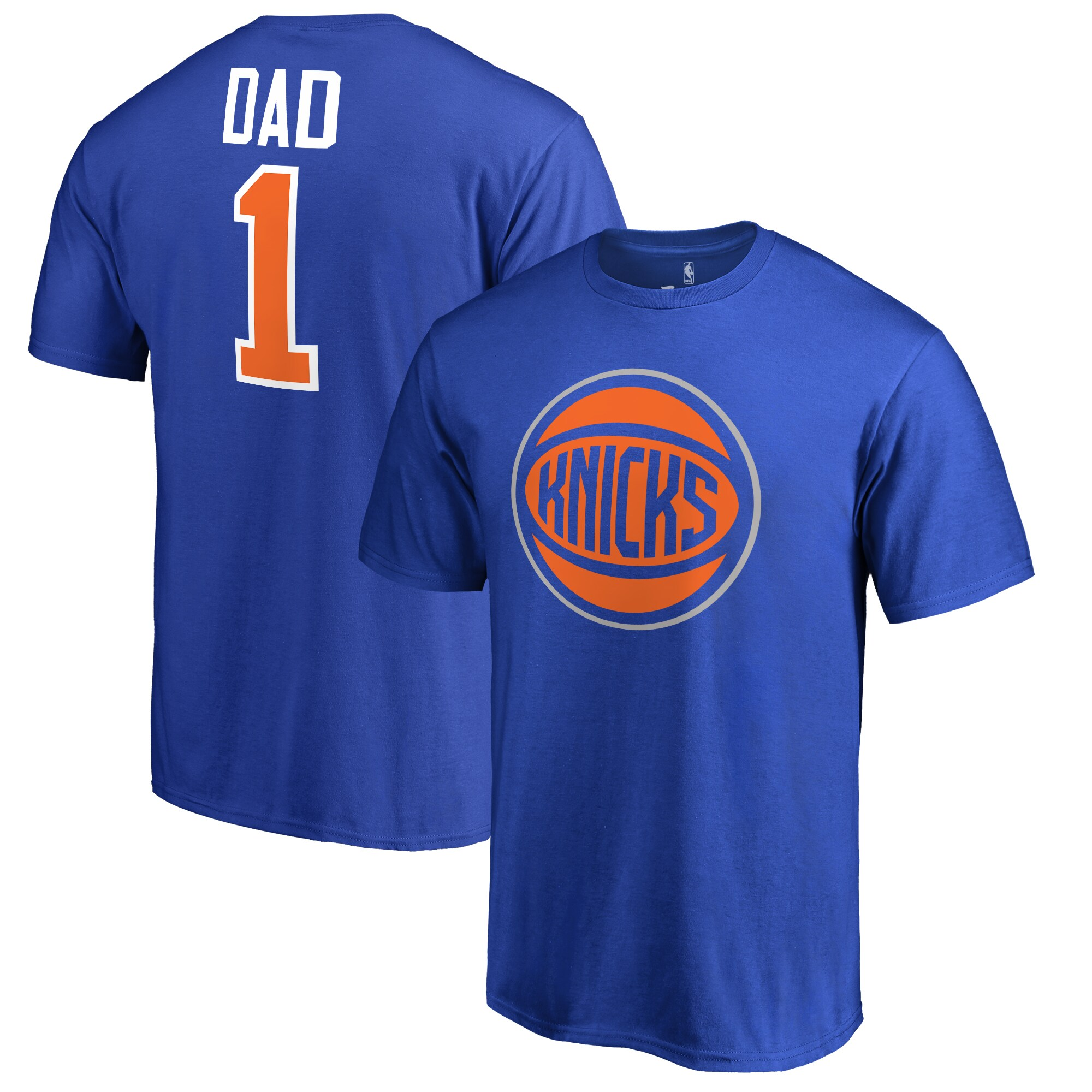 New York Knicks #1 Dad T-Shirt - Royal