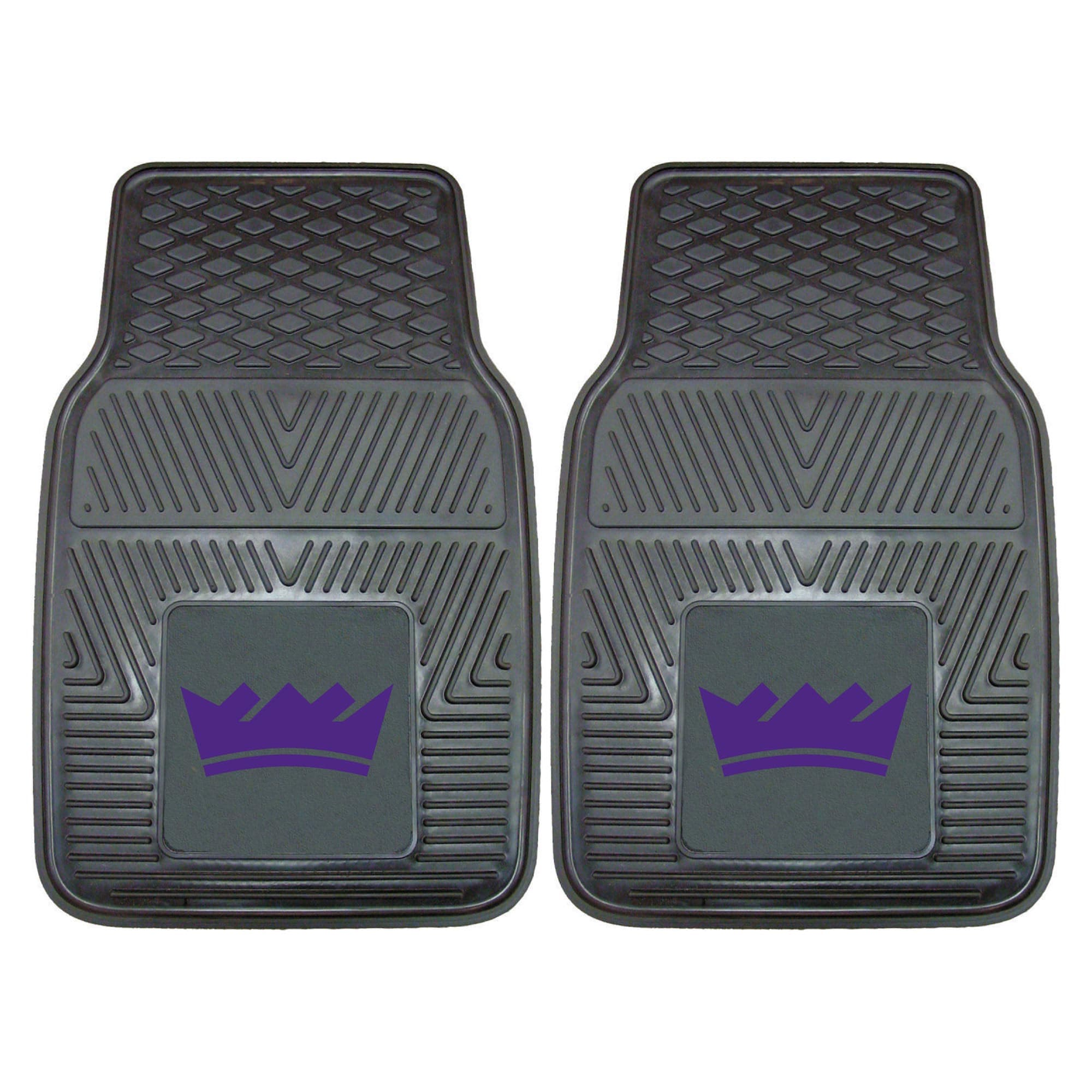 "Sacramento Kings 27"" x 18"" 2-Pack Vinyl Car Mat Set"
