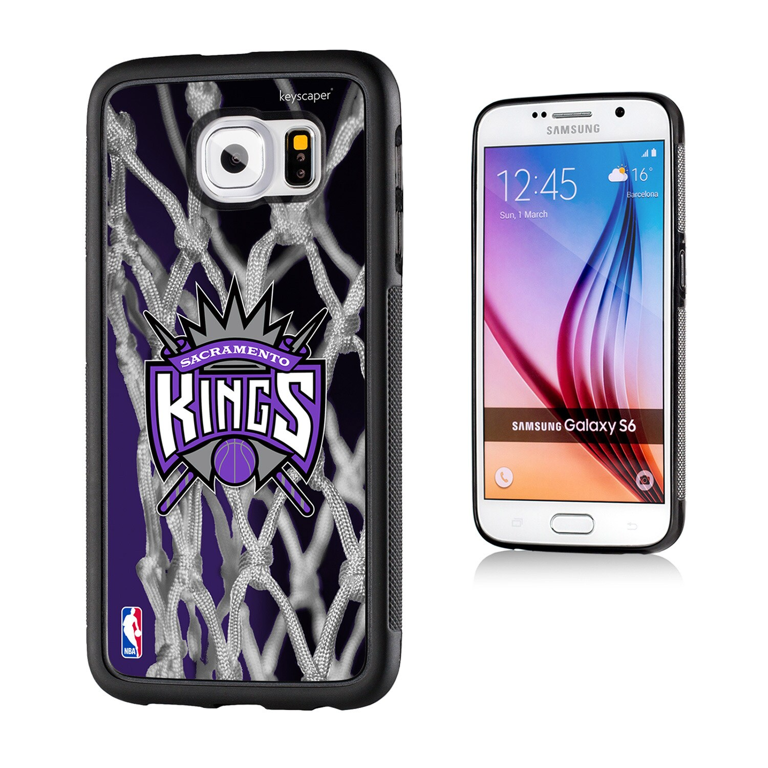 Sacramento Kings Net 2 Galaxy S6 Bumper Case