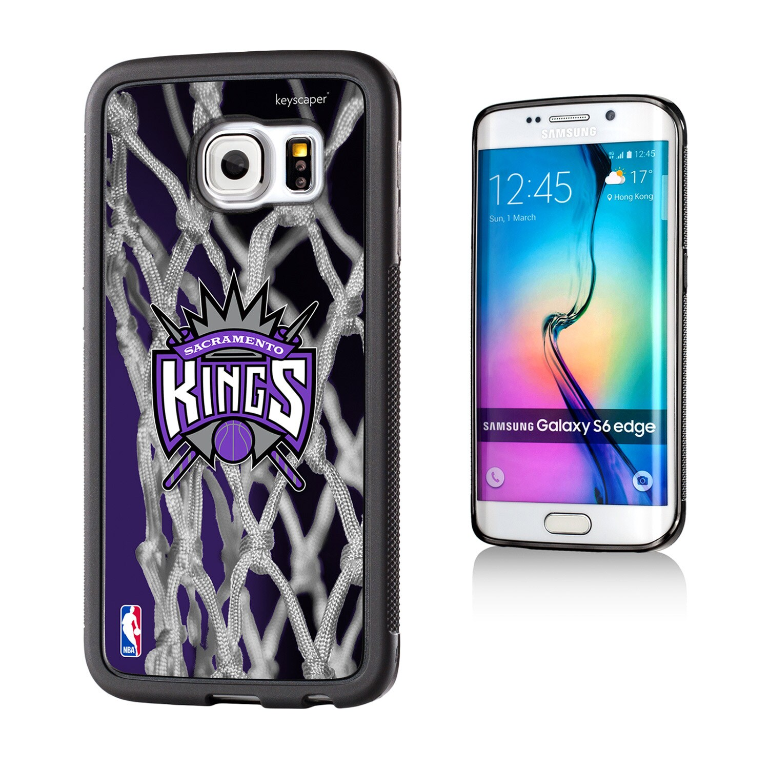 Sacramento Kings Net 2 Galaxy S6 Edge Bumper Case