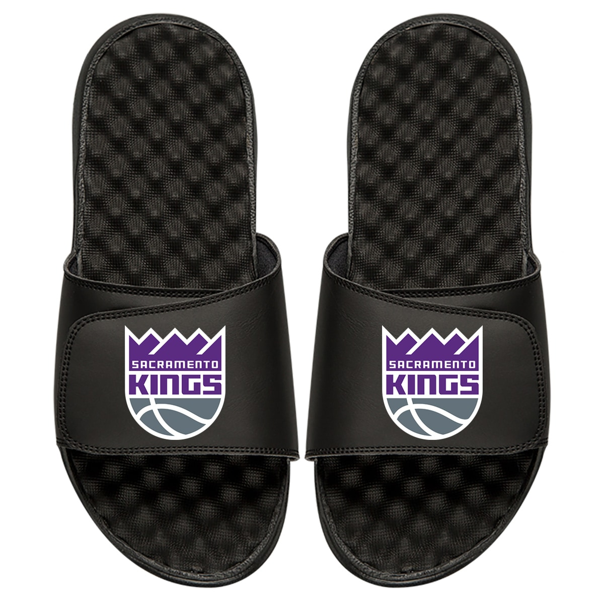 Sacramento Kings Primary iSlide Sandals - Black