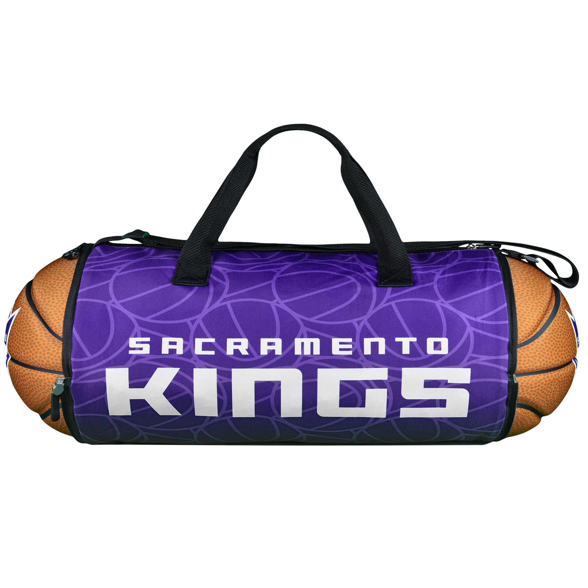 Sacramento Kings Basketball to Duffle Bag