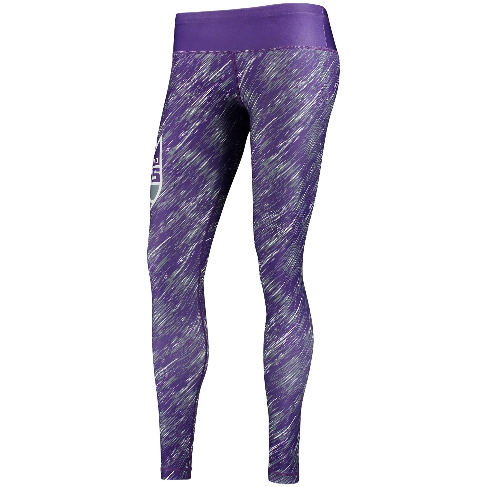 Sacramento Kings Women's Static Rain Leggings - Purple