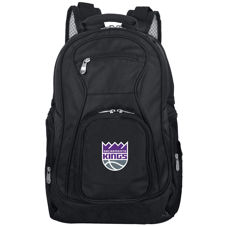 "Sacramento Kings 19"" Laptop Travel Backpack - Black"