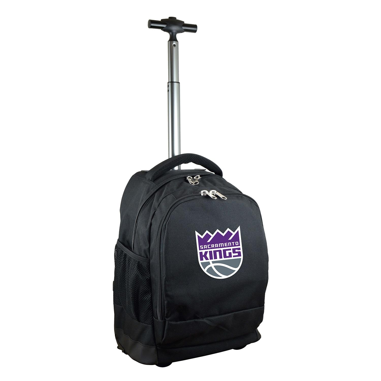 Sacramento Kings 19'' Premium Wheeled Backpack - Black