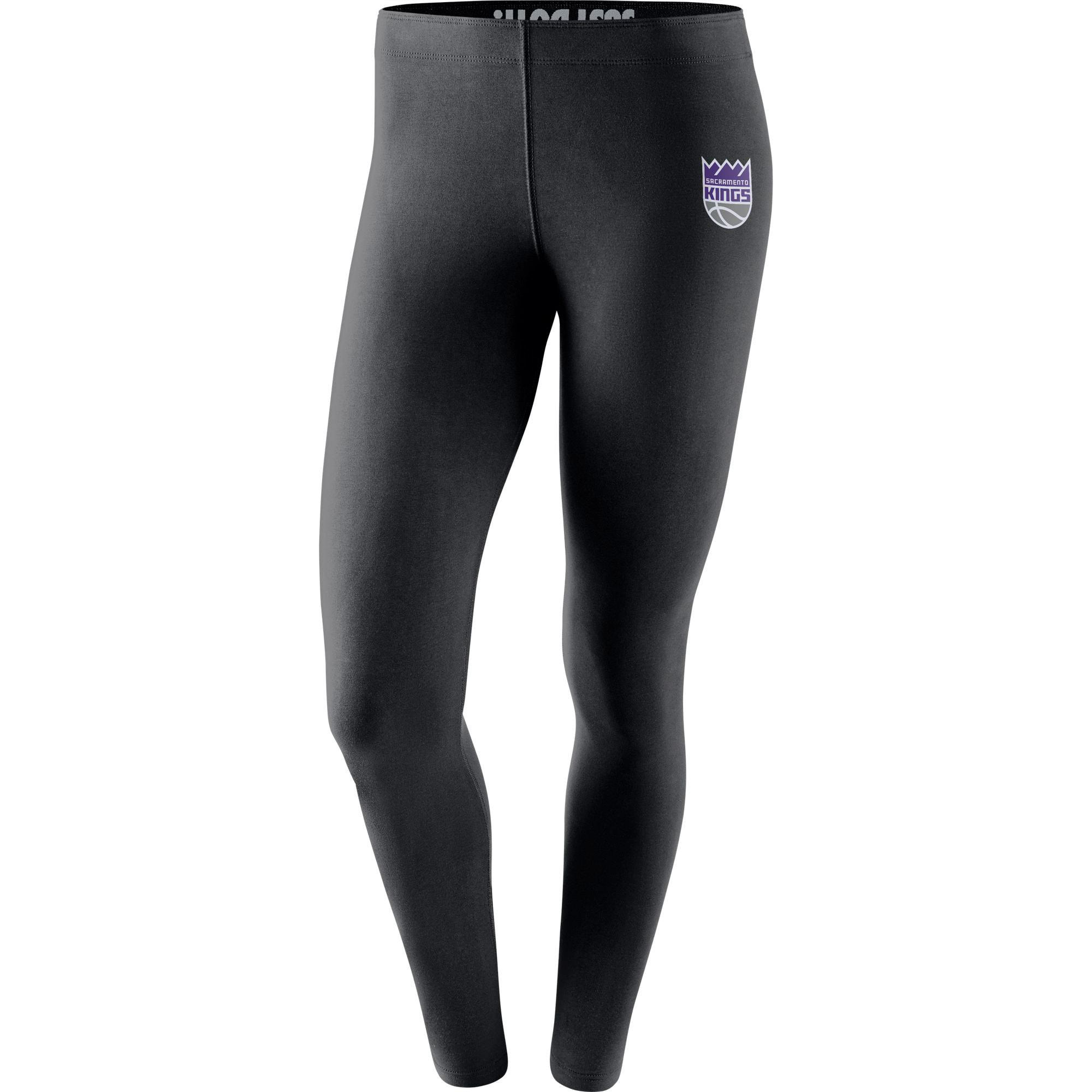 Sacramento Kings Nike Women's Leg-A-See Tights - Black