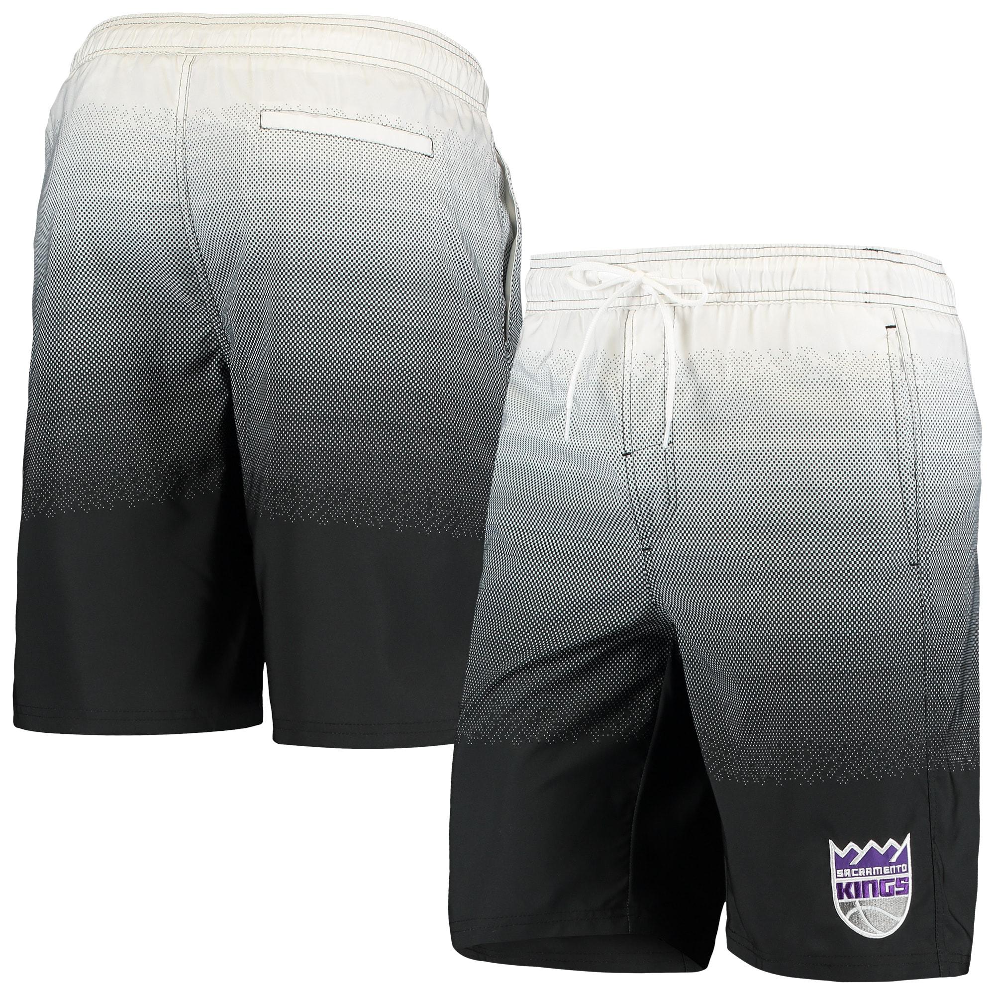 Sacramento Kings G-III Sports by Carl Banks Horizon Swim Trunks - Black