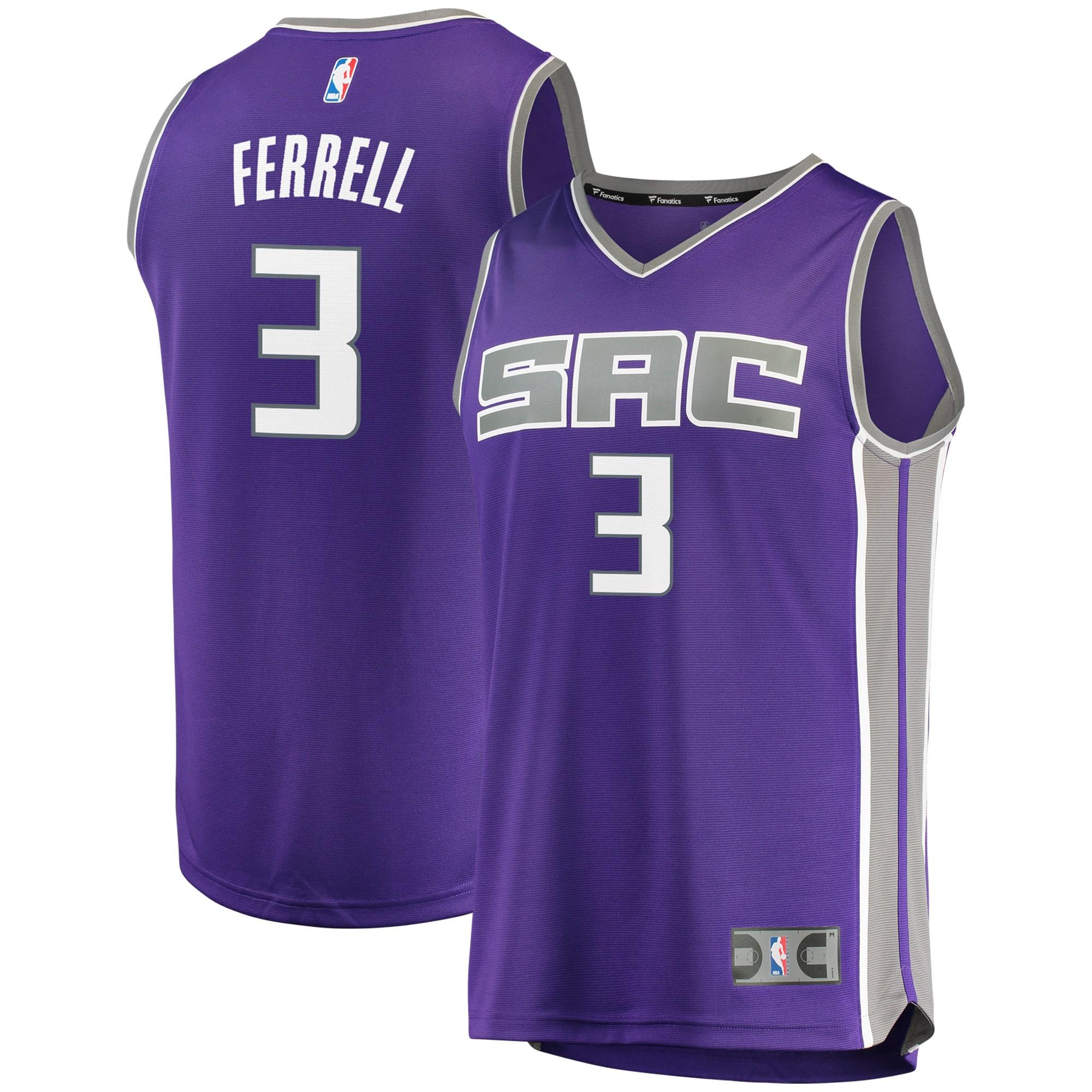 Yogi Ferrell Sacramento Kings Fanatics Branded Fast Break Replica Jersey - Icon Edition - Purple