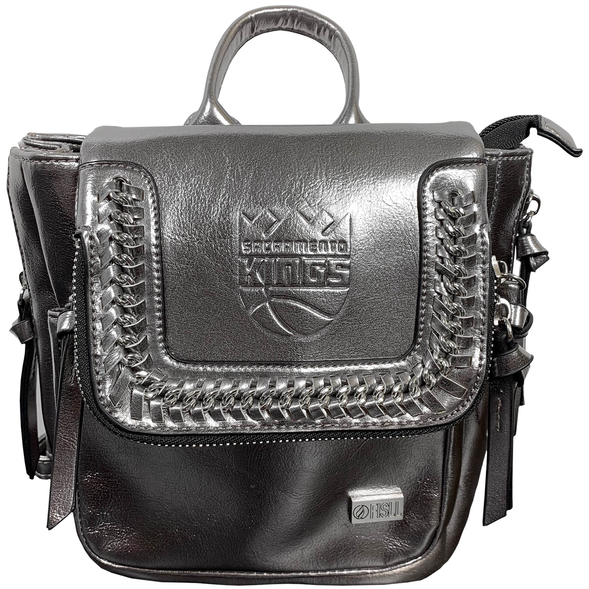 Sacramento Kings Metallic Mini Backpack