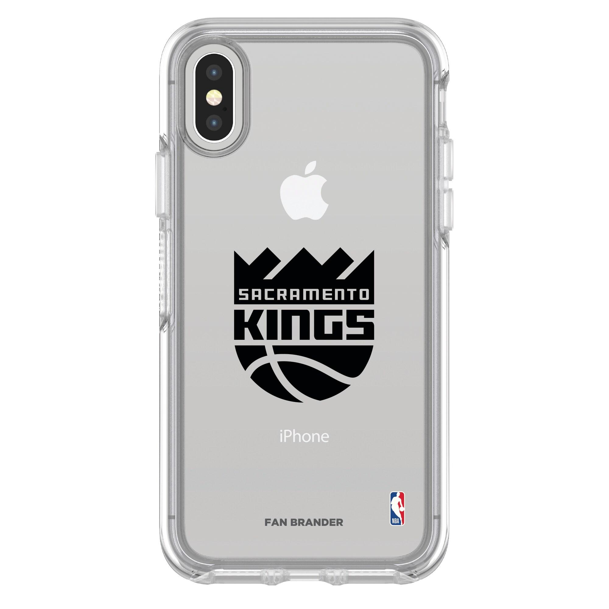Sacramento Kings OtterBox Clear iPhone Symmetry Case