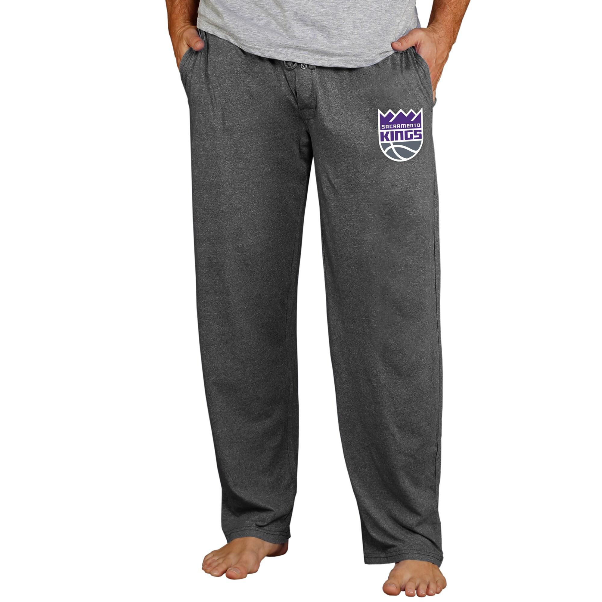 Sacramento Kings Concepts Sport Quest Knit Lounge Pants - Charcoal