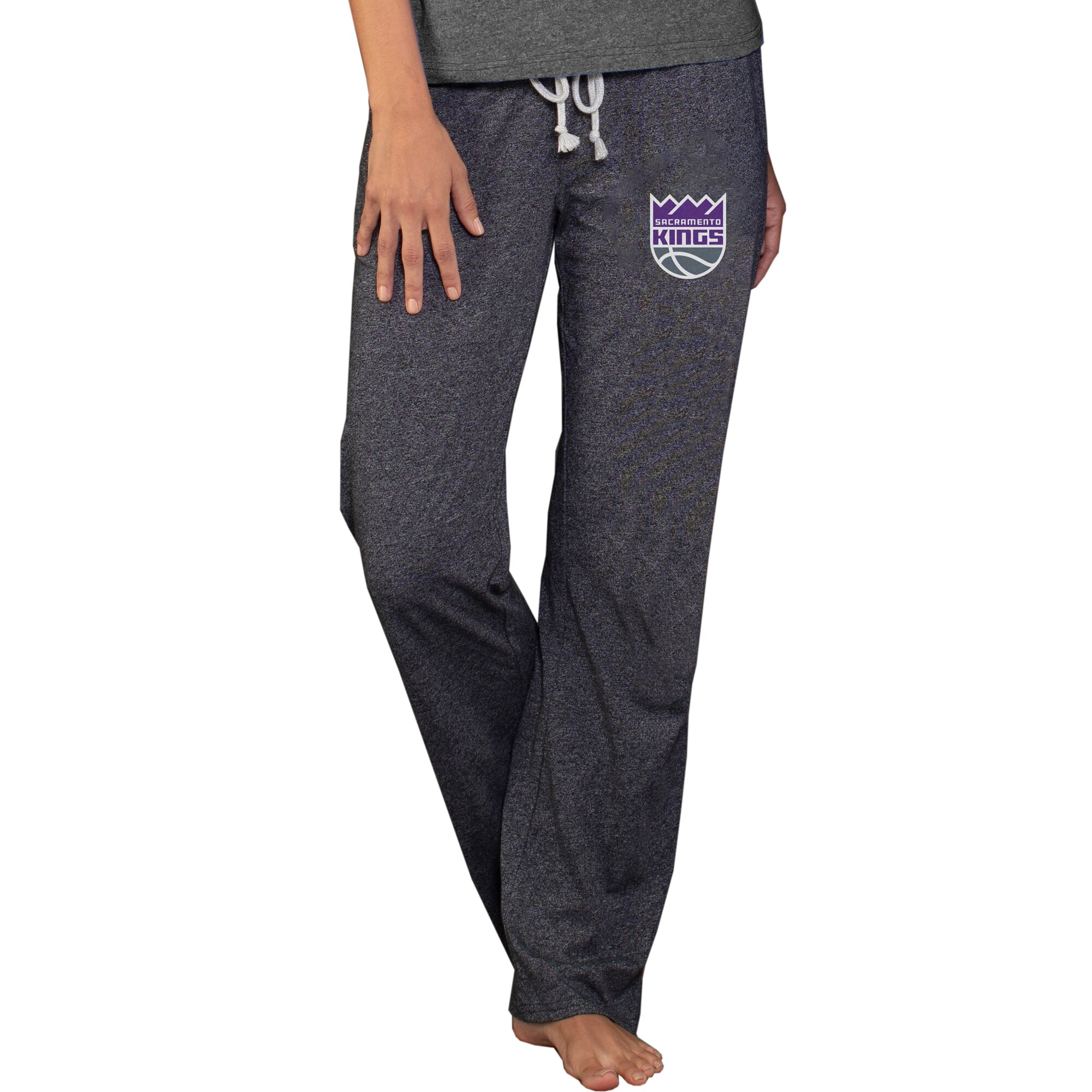 Sacramento Kings Concepts Sport Women's Quest Knit Lounge Pants - Charcoal