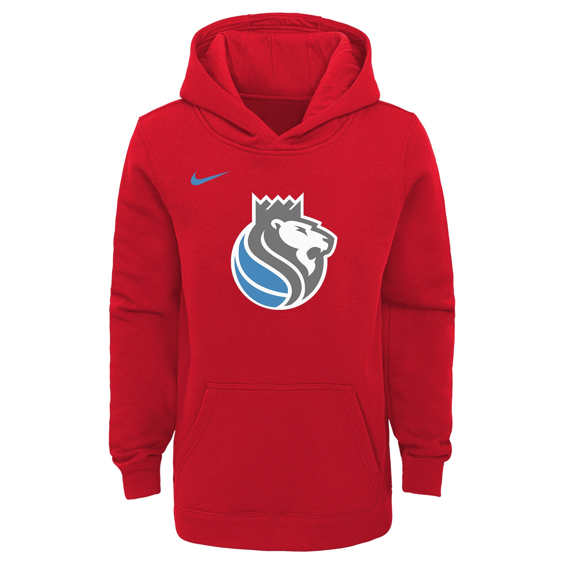 Sacramento Kings Nike Youth 2019/20 City Edition Club Pullover Hoodie - Red