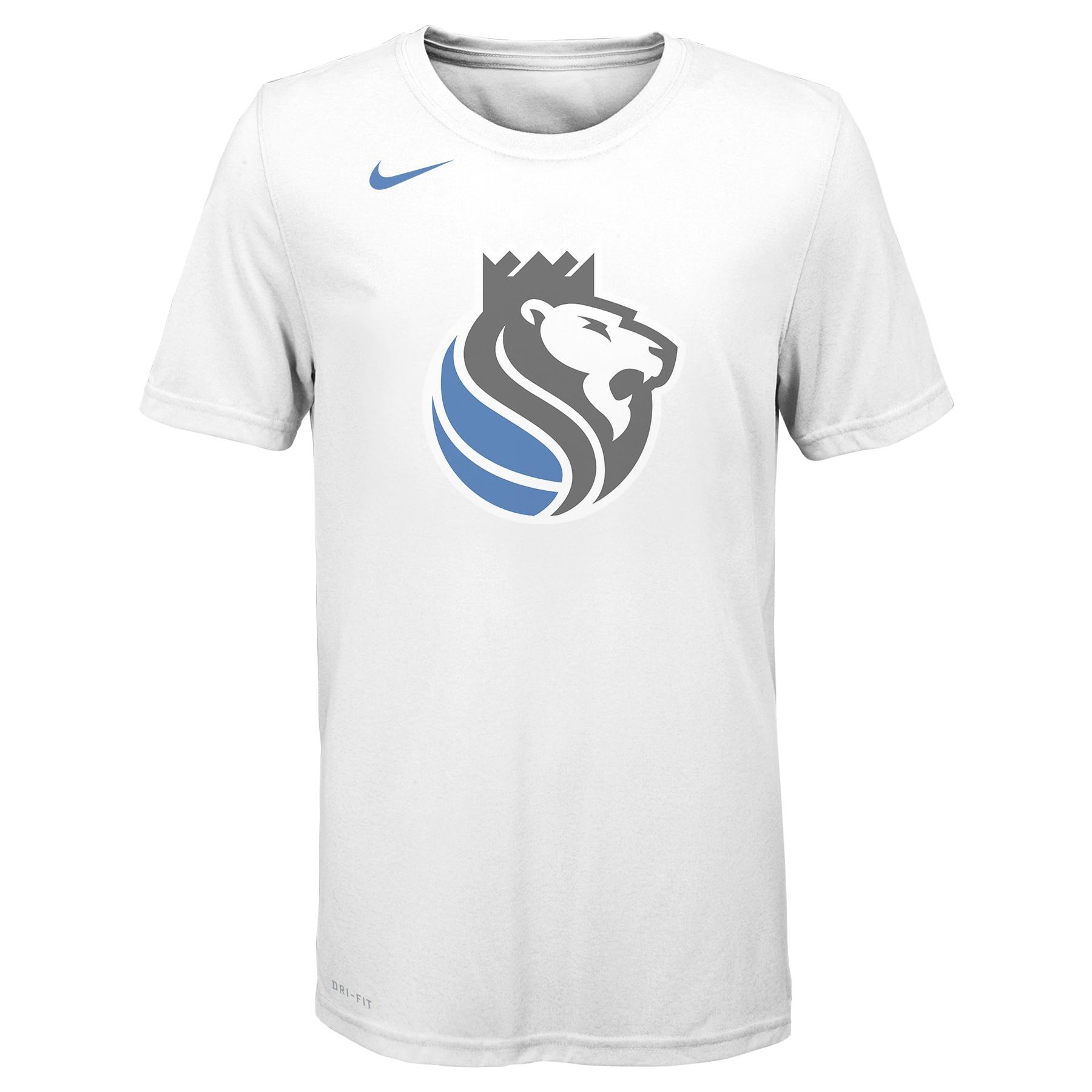 Sacramento Kings Nike Youth 2019/20 City Edition Logo T-Shirt - White