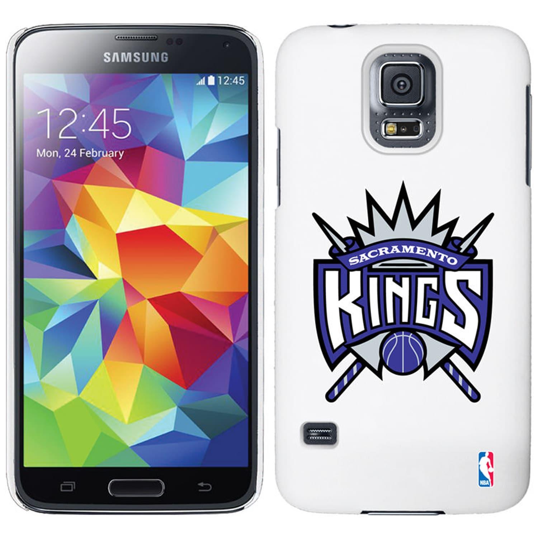 Sacramento Kings Galaxy S5 Primary Logo Thinshield Case - White