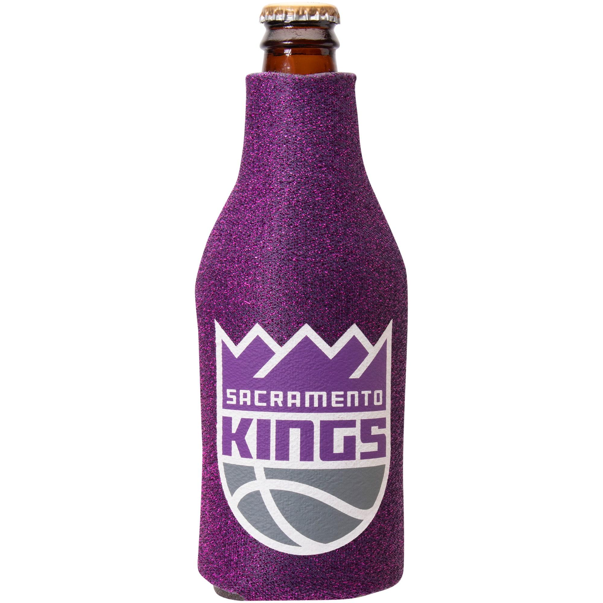 Sacramento Kings Glitter Bottle Cooler