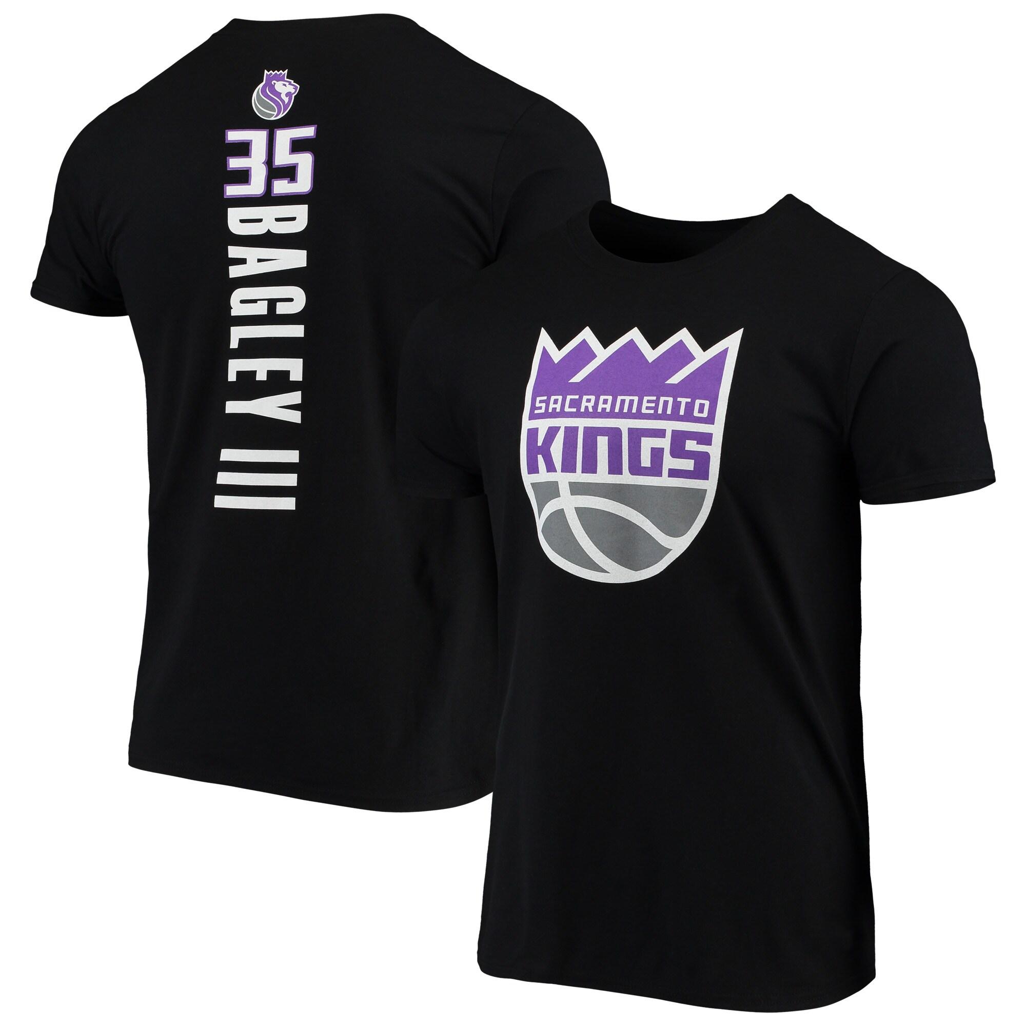 Marvin Bagley III Sacramento Kings Fanatics Branded Team Playmaker Name & Number T-Shirt - Black