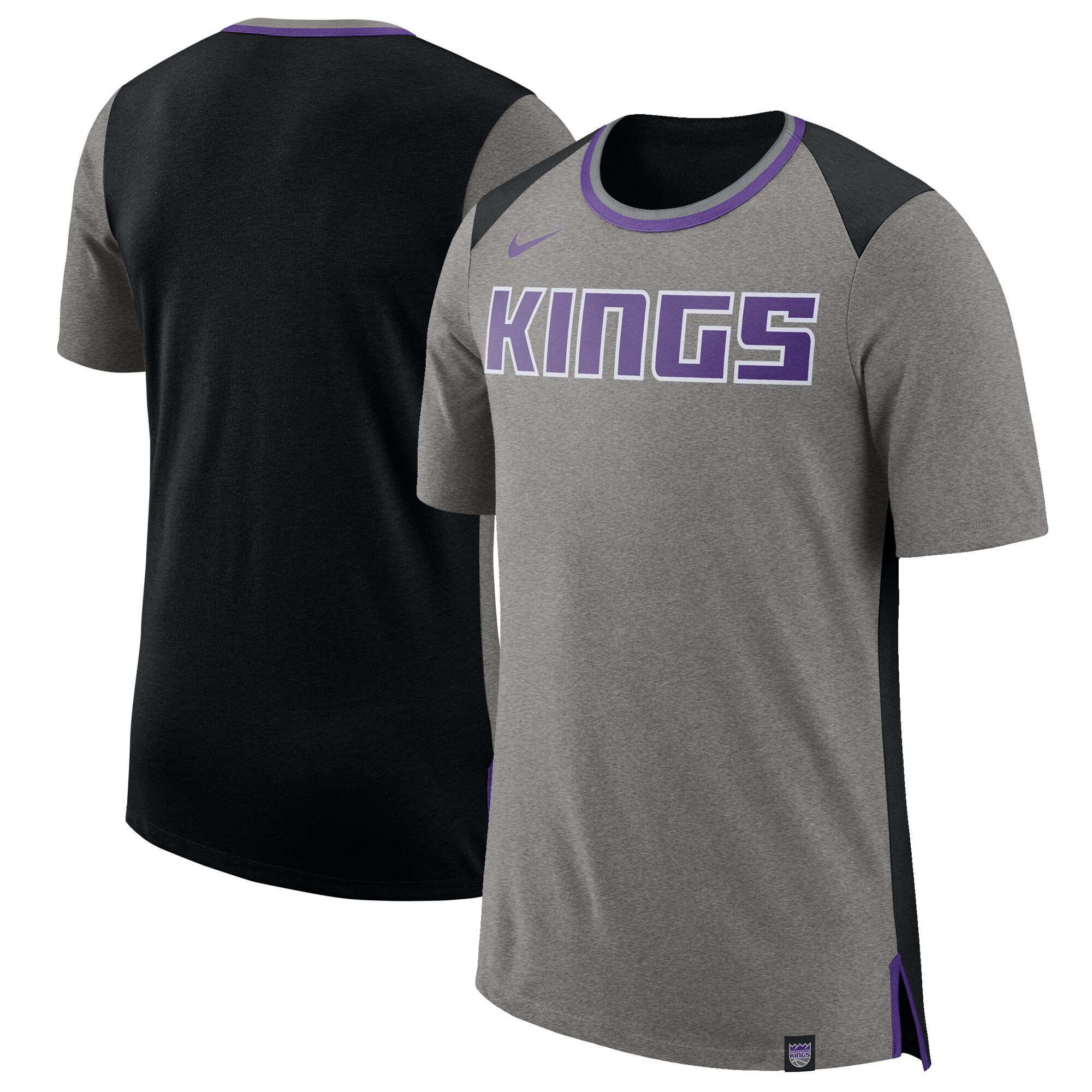 Sacramento Kings Nike Basketball Fan T-Shirt - Gray