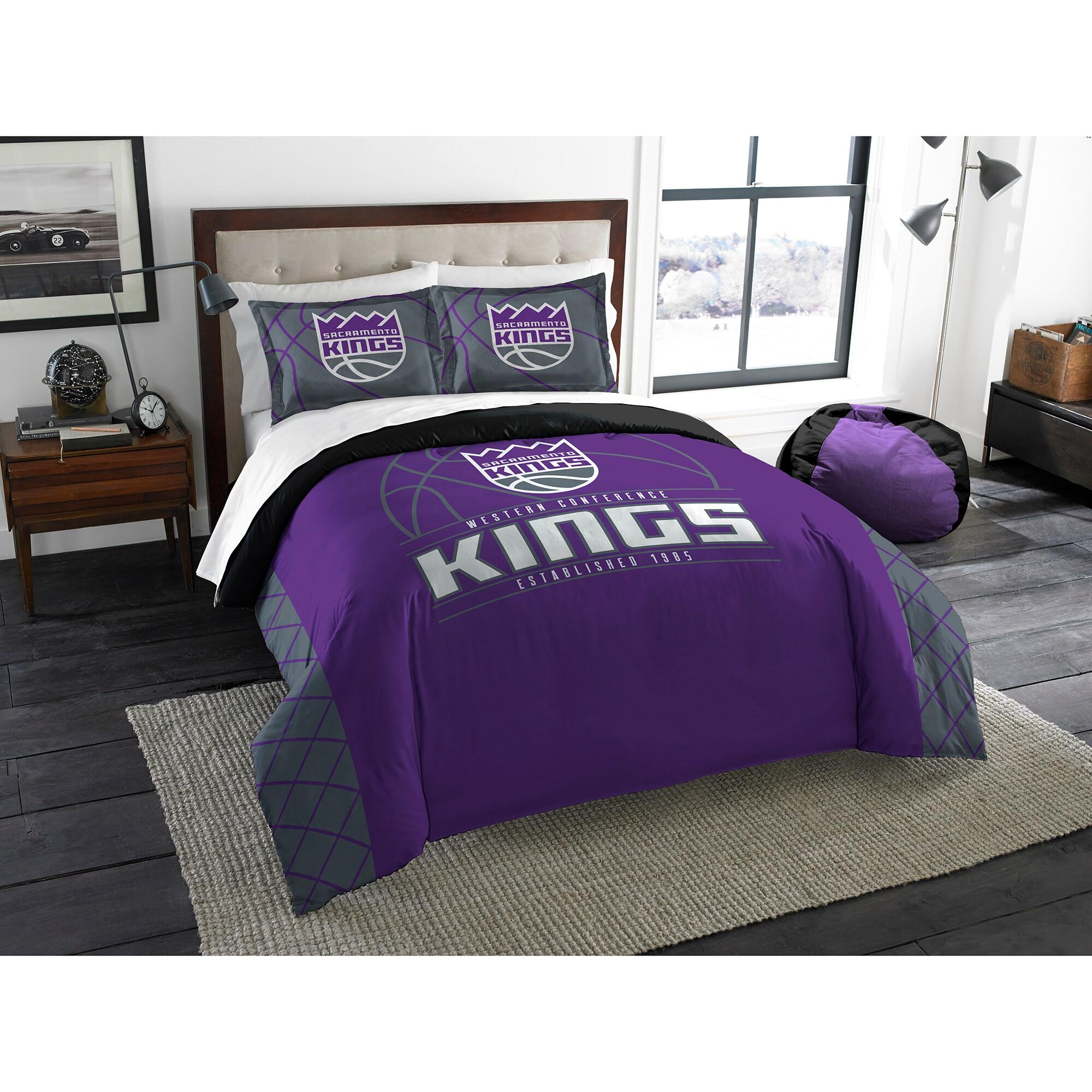 Sacramento Kings The Northwest Company Reverse Slam Full/Queen Comforter Set
