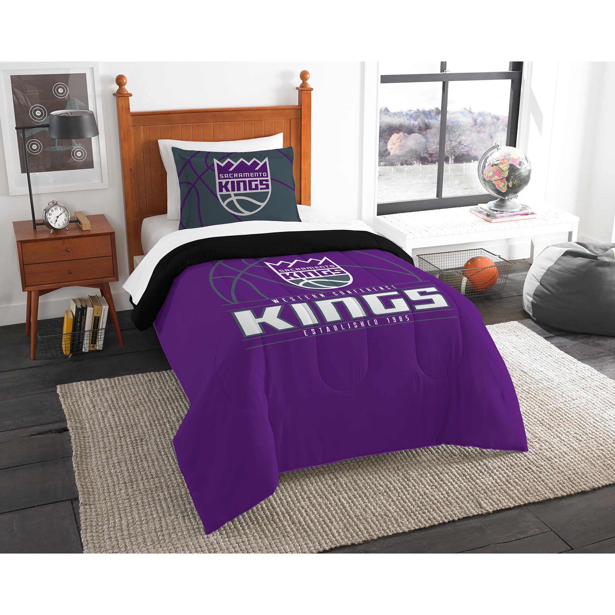 Sacramento Kings The Northwest Company Reverse Slam Twin Comforter Set