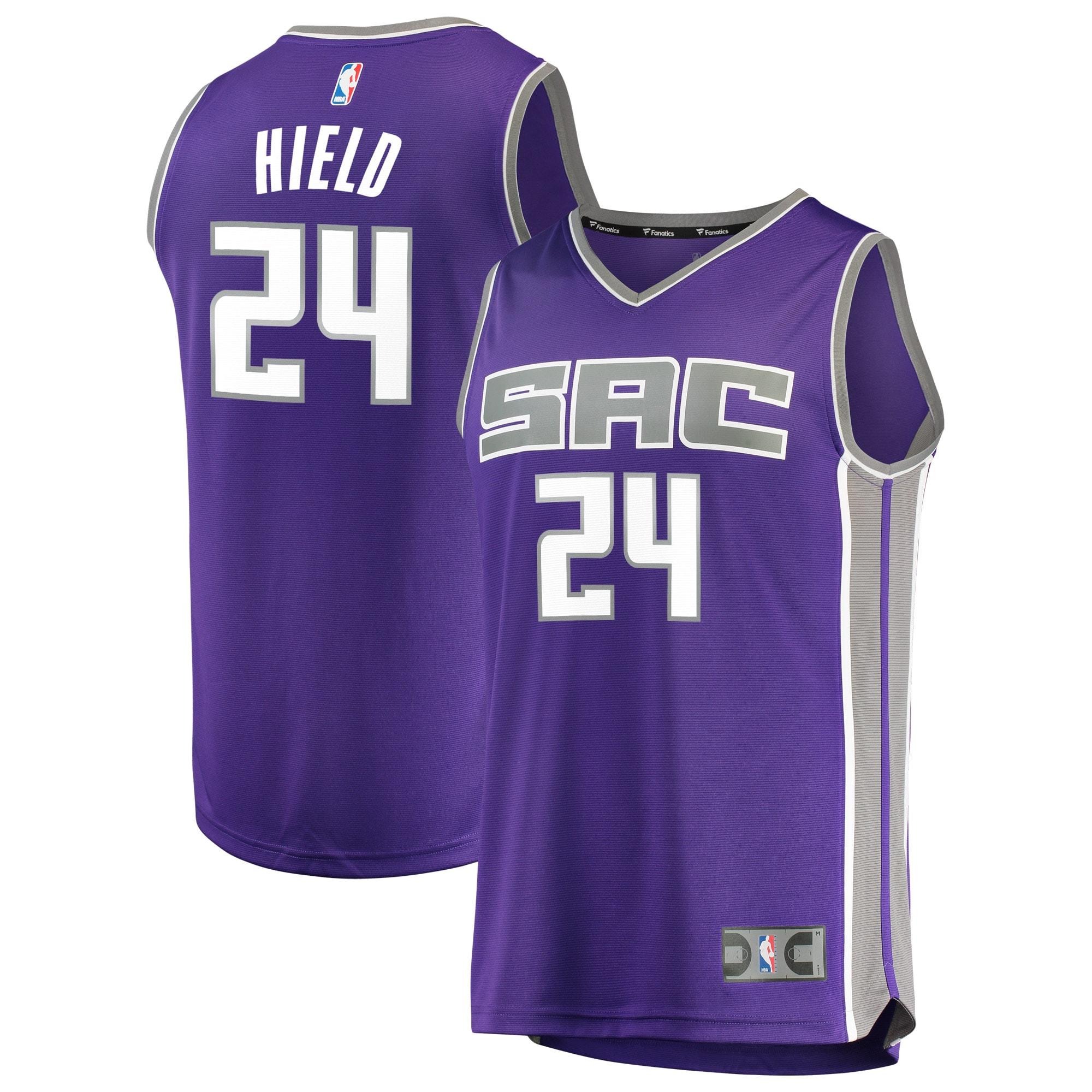 Buddy Hield Sacramento Kings Fanatics Branded Fast Break Replica Jersey Purple - Icon Edition