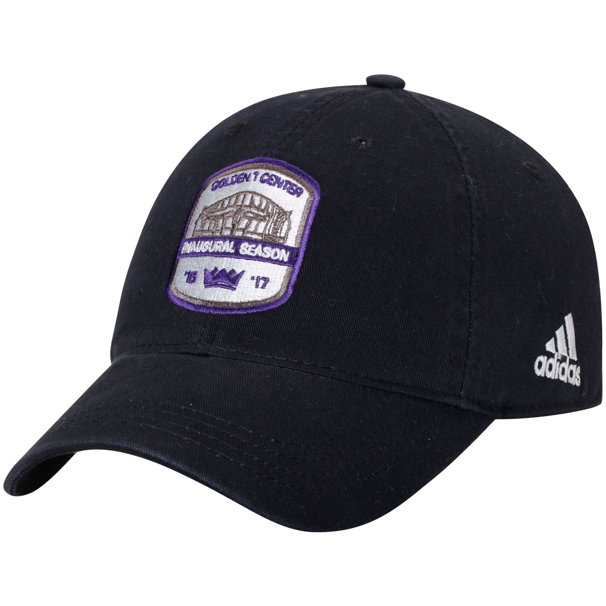 Sacramento Kings adidas Anniversary Adjustable Hat - Black