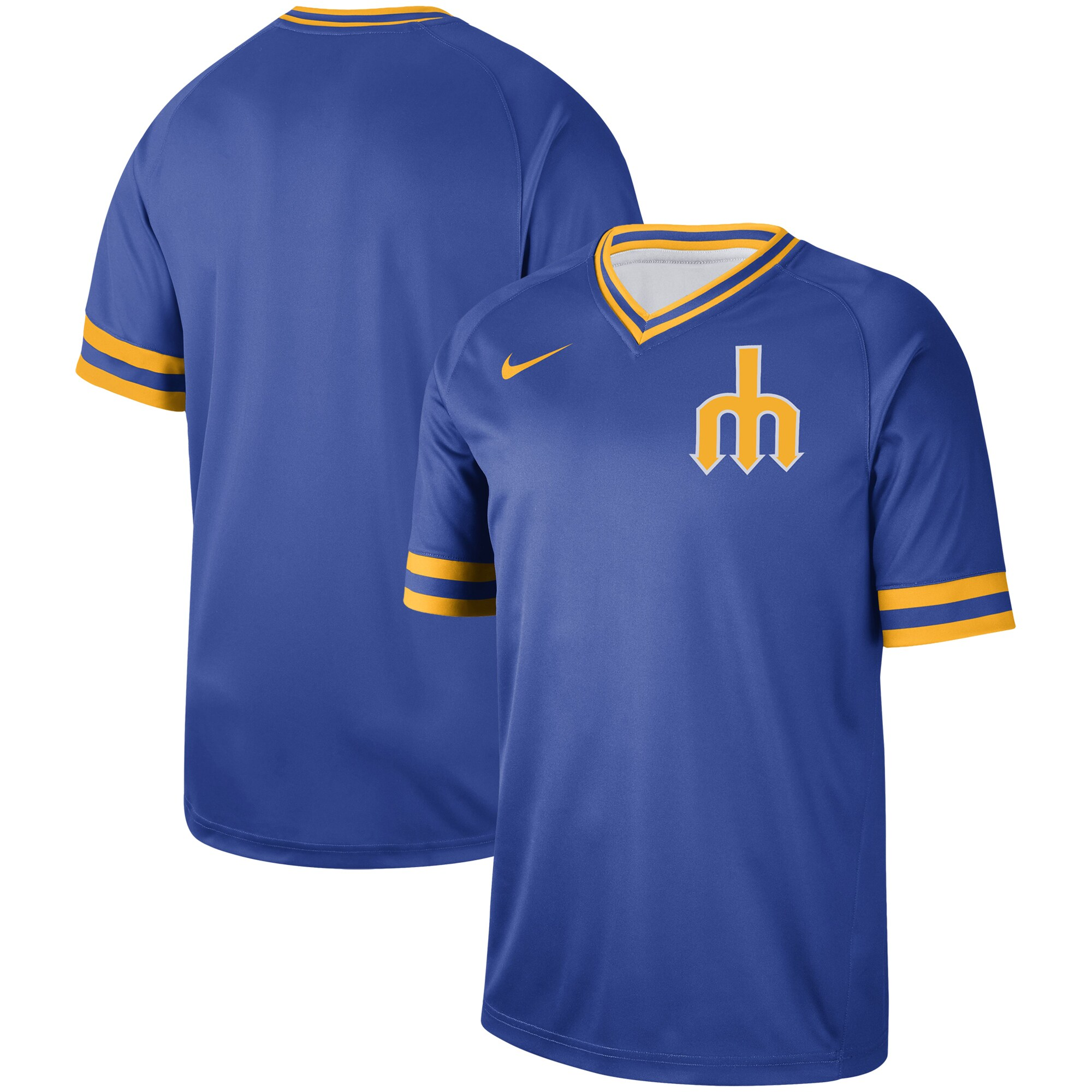Seattle Mariners Nike Cooperstown Collection Legend V-Neck Jersey - Royal