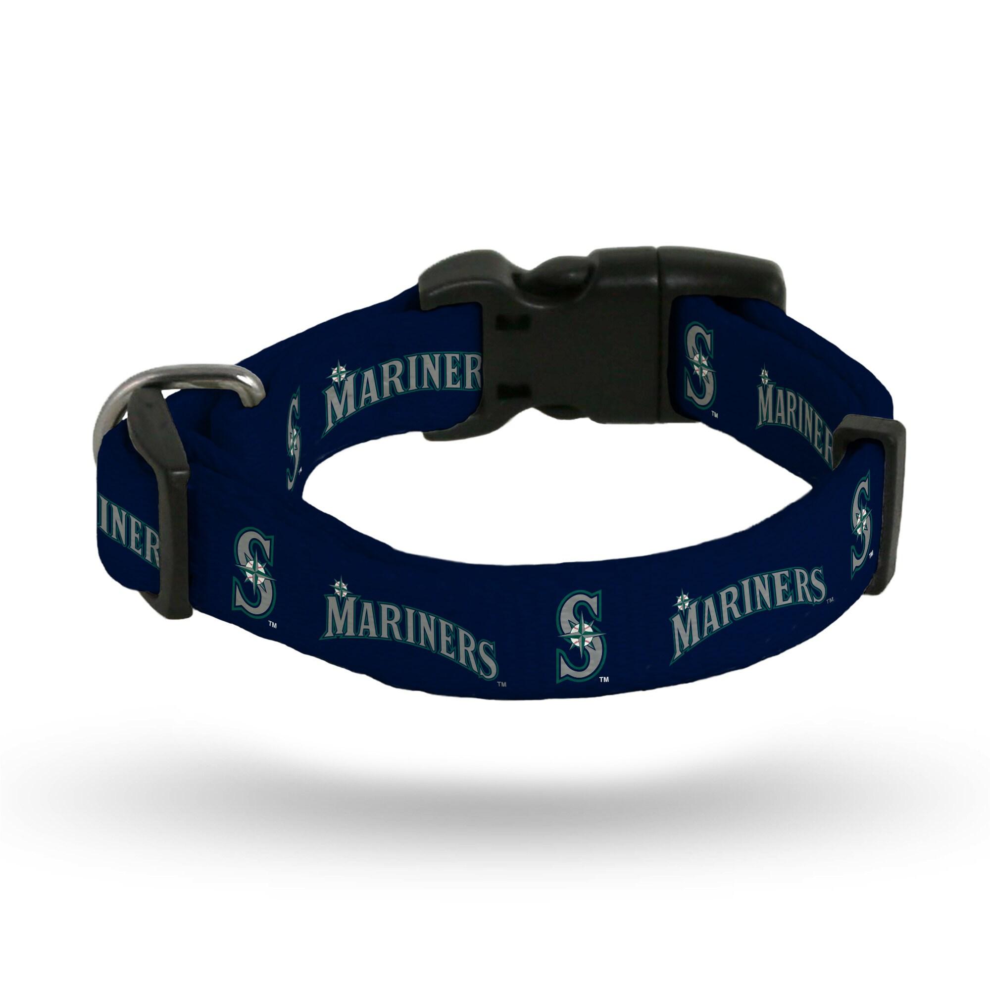 Seattle Mariners Sparo Rugged Pet Collar