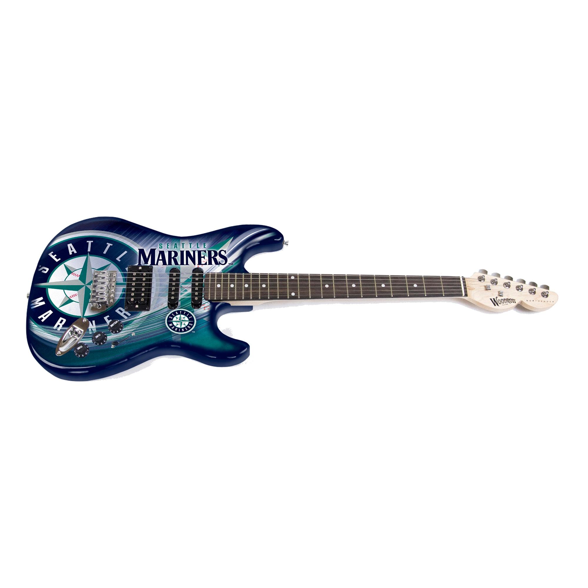 Seattle Mariners Woodrow NorthEnder Guitar Series II