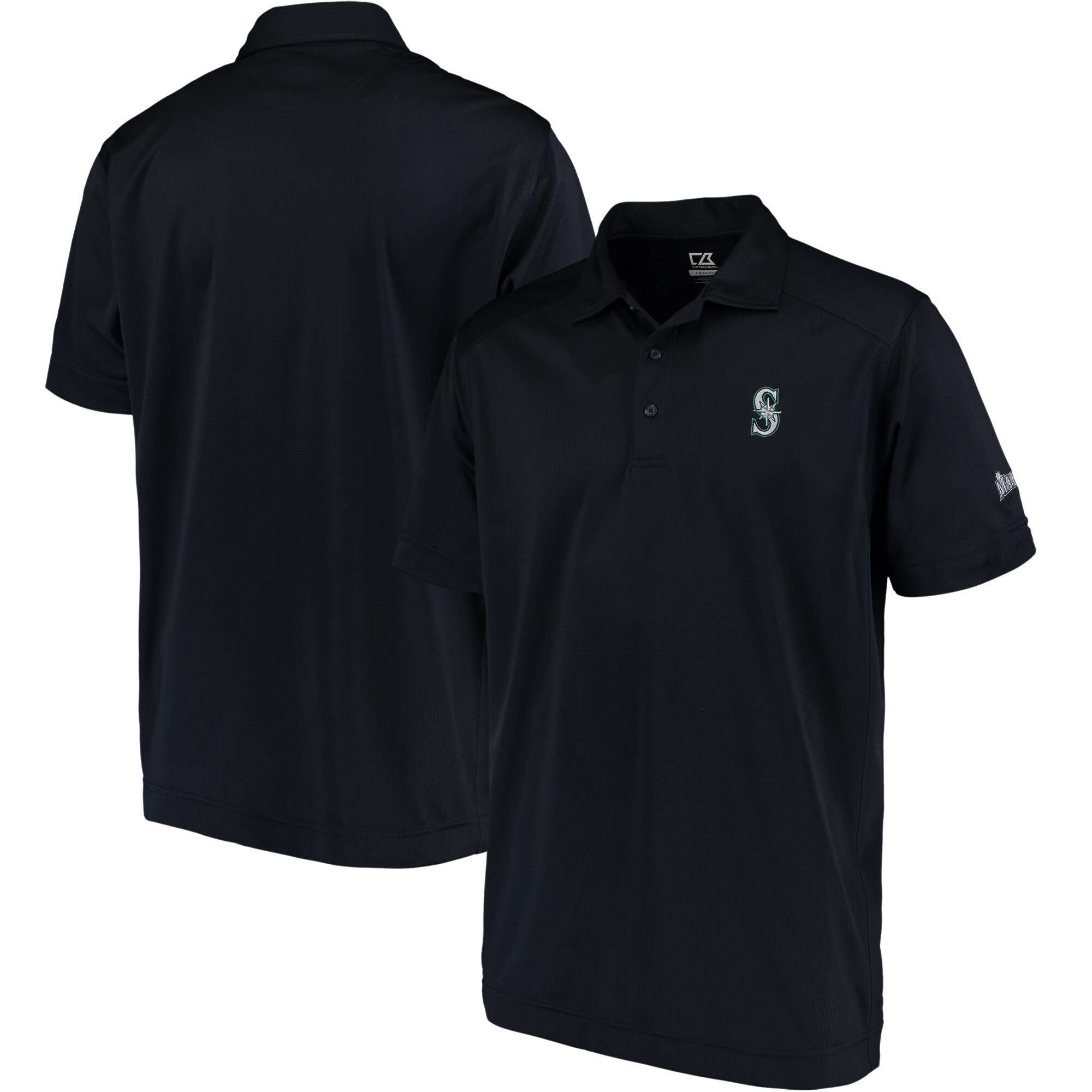 Seattle Mariners CBUK by Cutter & Buck Genre DryTec Polo - Navy