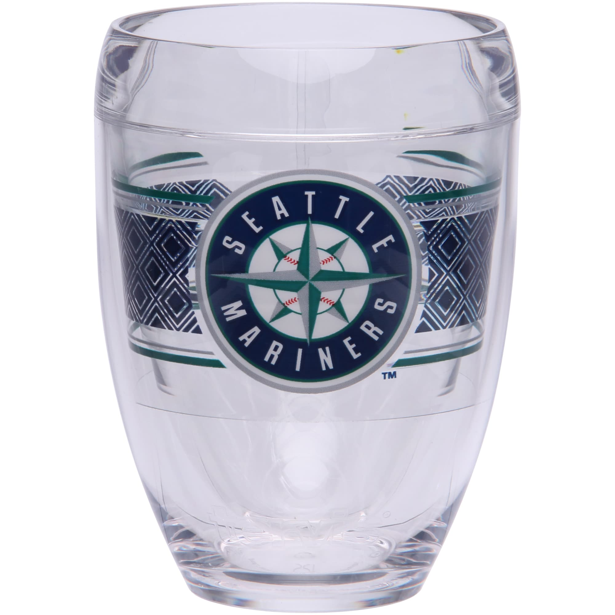 Seattle Mariners Tervis 9oz. Stemless Wine Glass