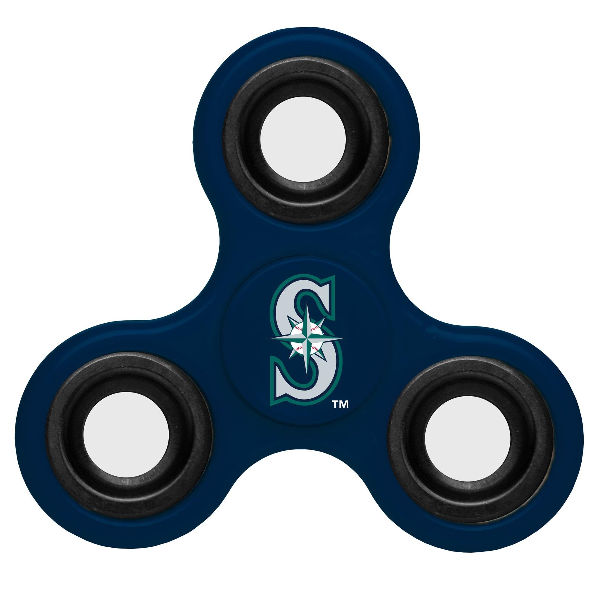 Seattle Mariners 3-Way Fidget Spinner