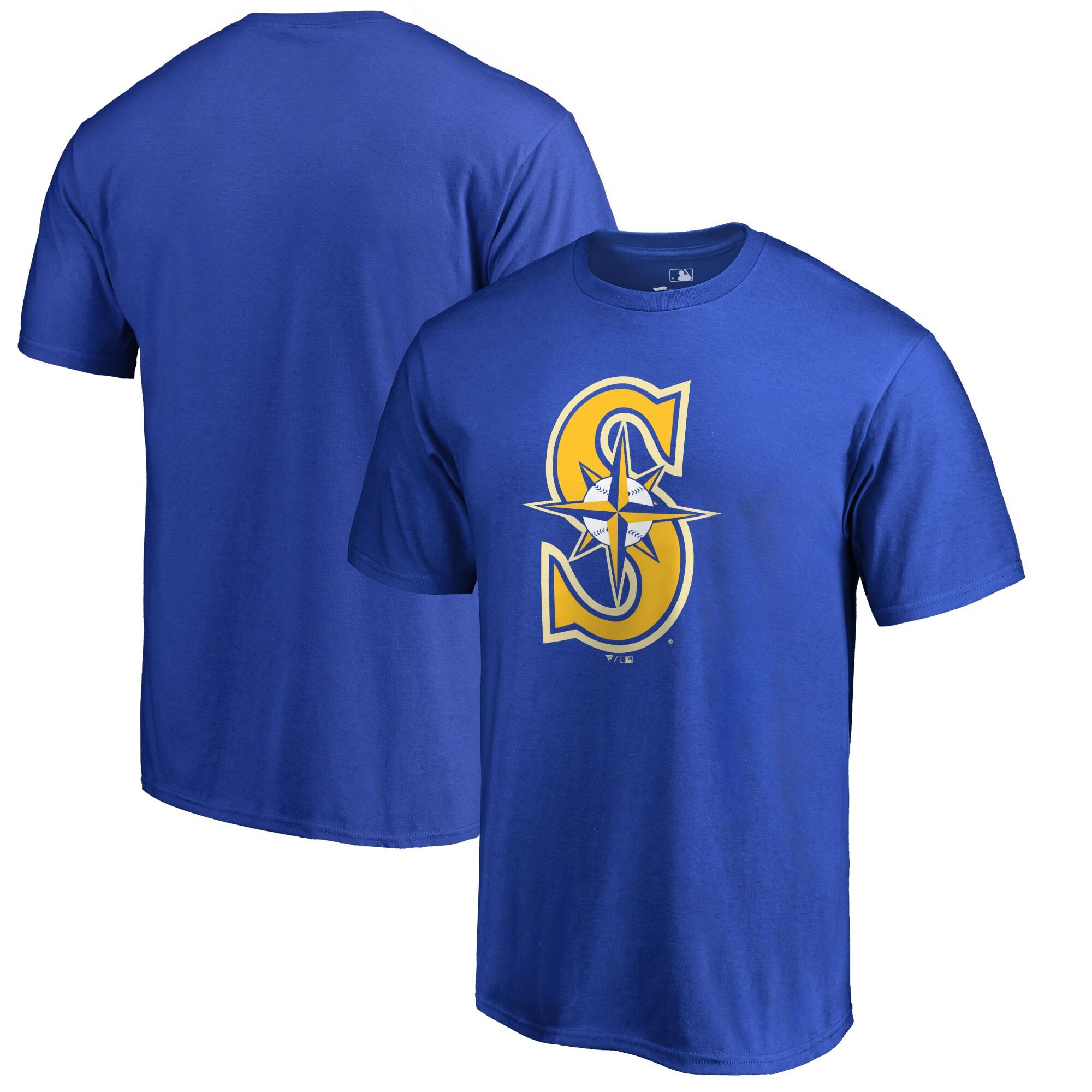 Seattle Mariners Big & Tall Primary Team Logo T-Shirt - Blue