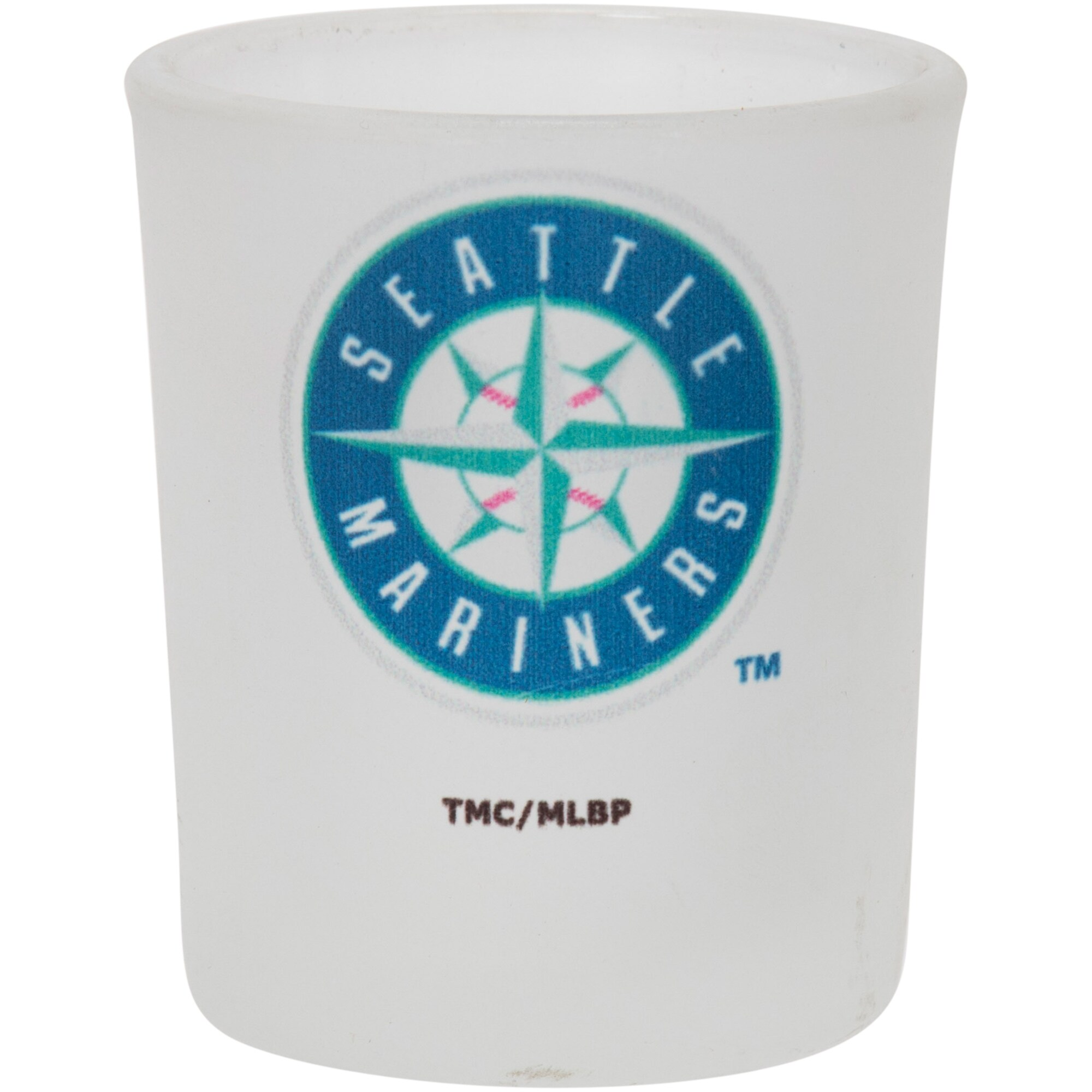 Seattle Mariners 4.5oz. Frosted Souvenir Glass