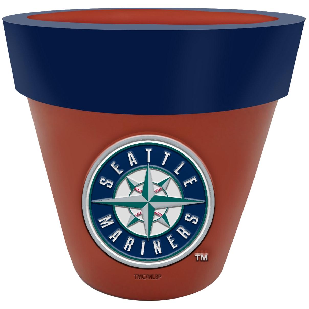 Seattle Mariners Team Planter Flower Pot