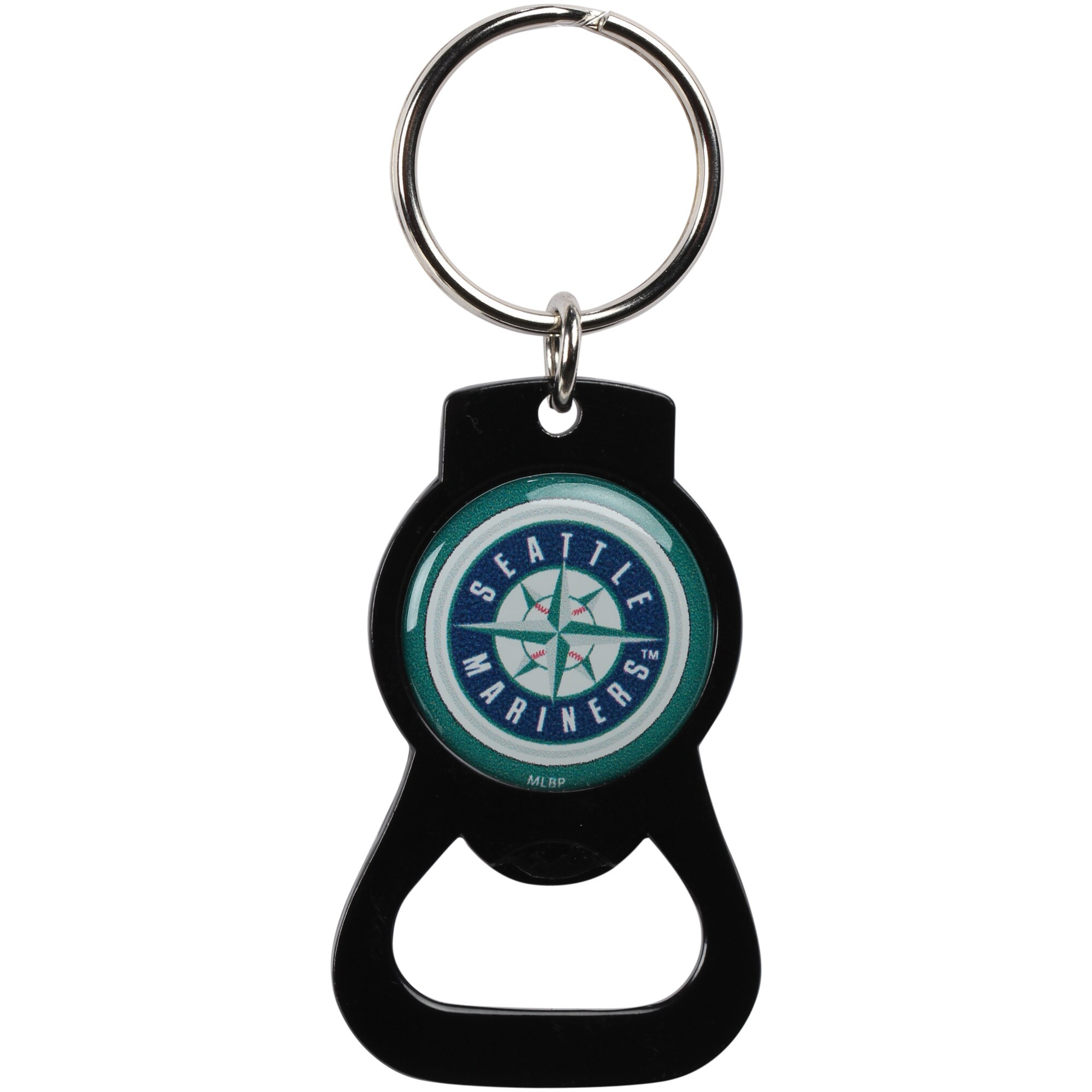 Seattle Mariners Bottle Opener Keychain - Black