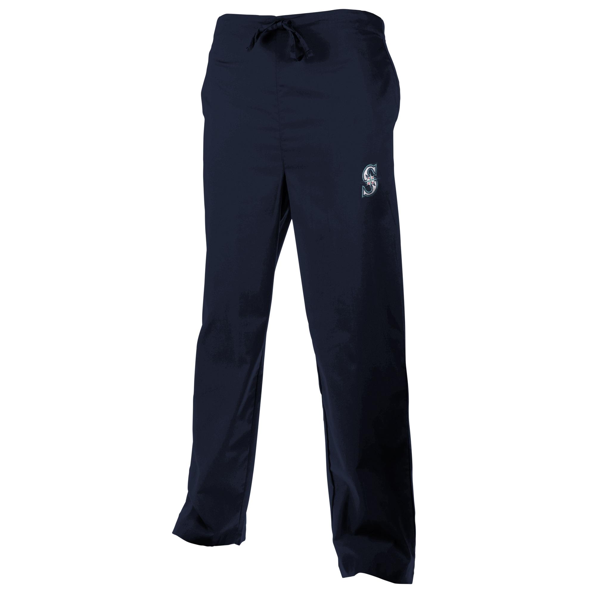 Seattle Mariners Unisex Scrub Pants - Navy Blue
