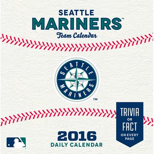 Seattle Mariners 2016 Box Calendar