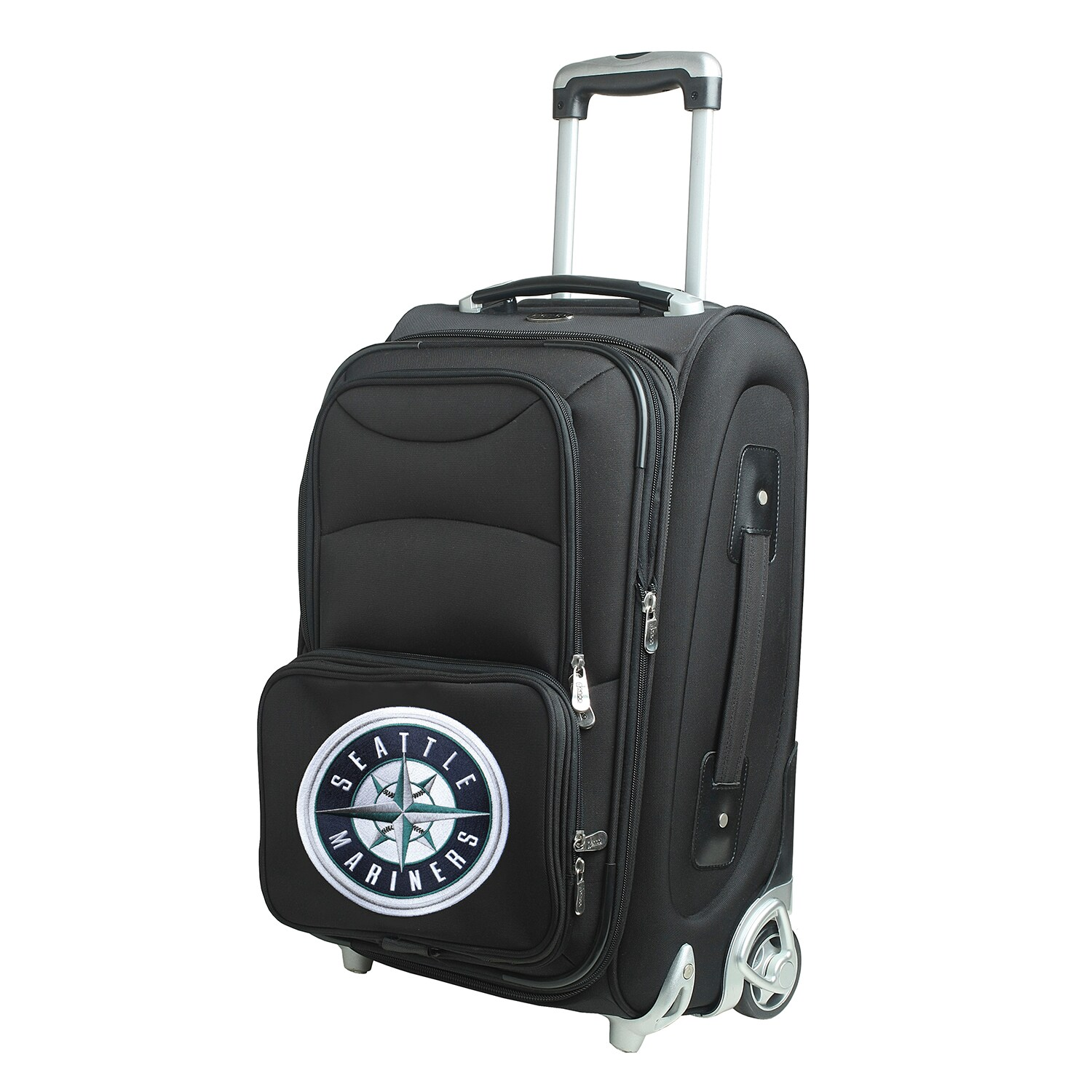 """Seattle Mariners 21"""" Rolling Carry-On Suitcase"""