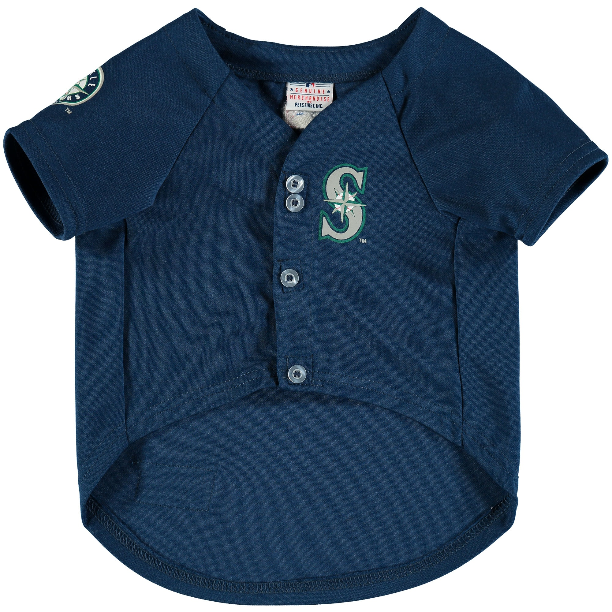 Seattle Mariners MLB Dog Jersey