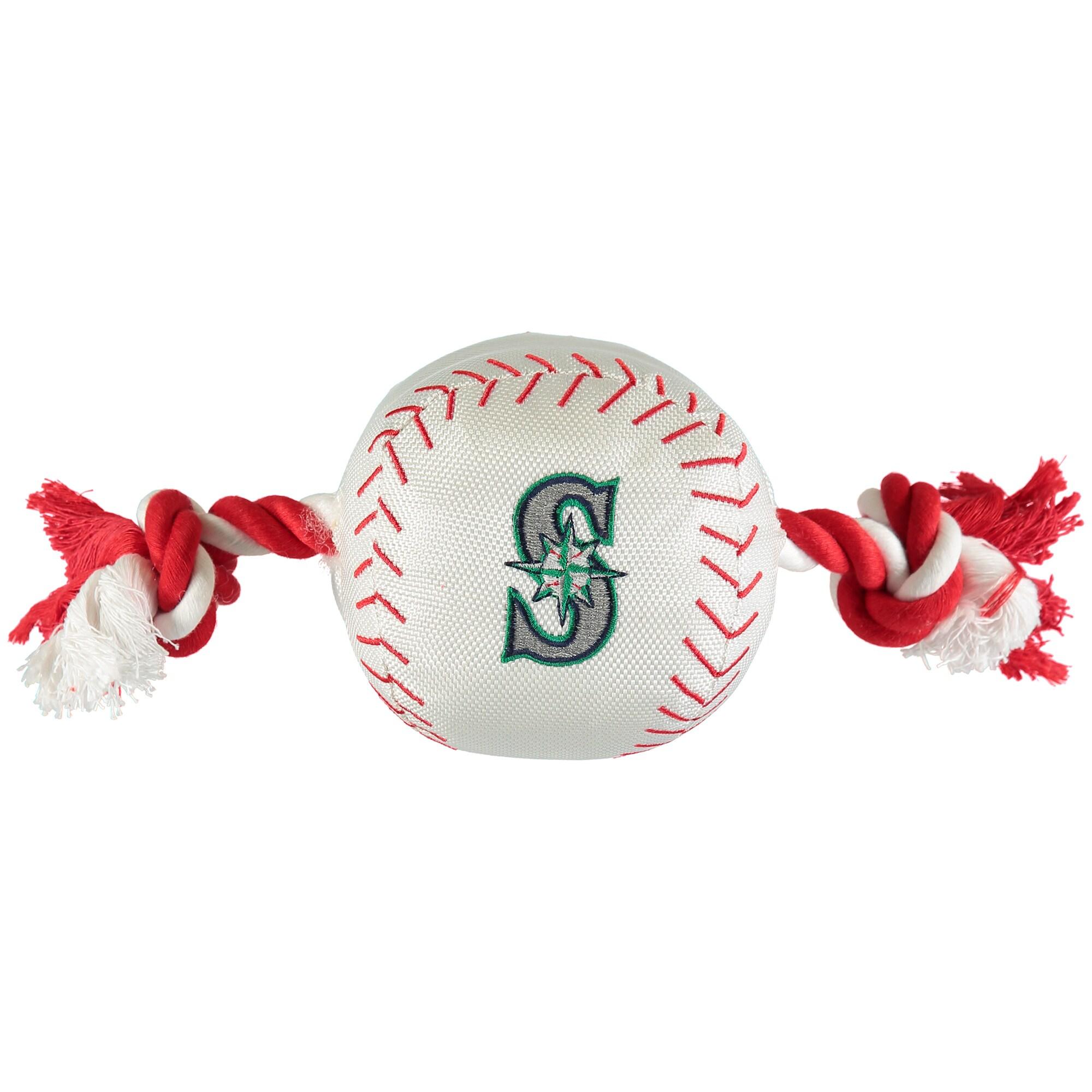 Seattle Mariners Dog Baseball Rope Toy