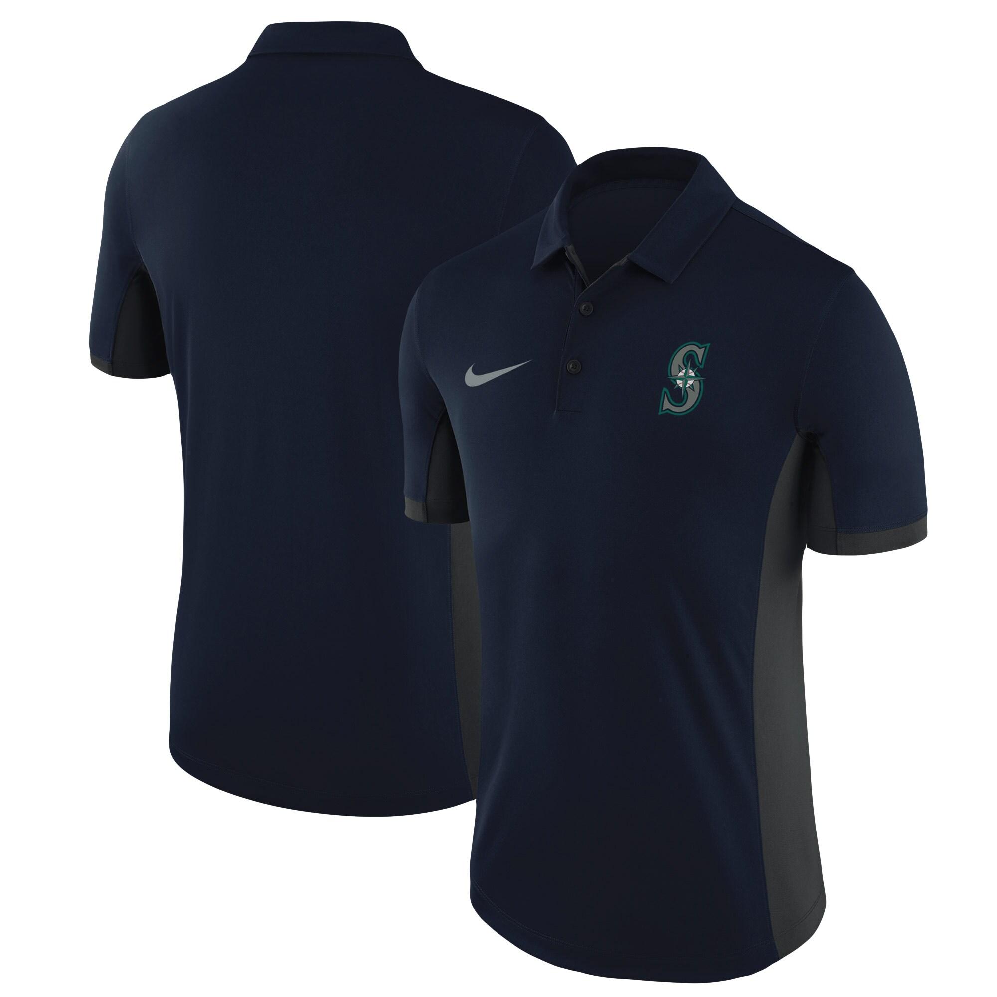 Seattle Mariners Nike Franchise Performance Polo - Navy