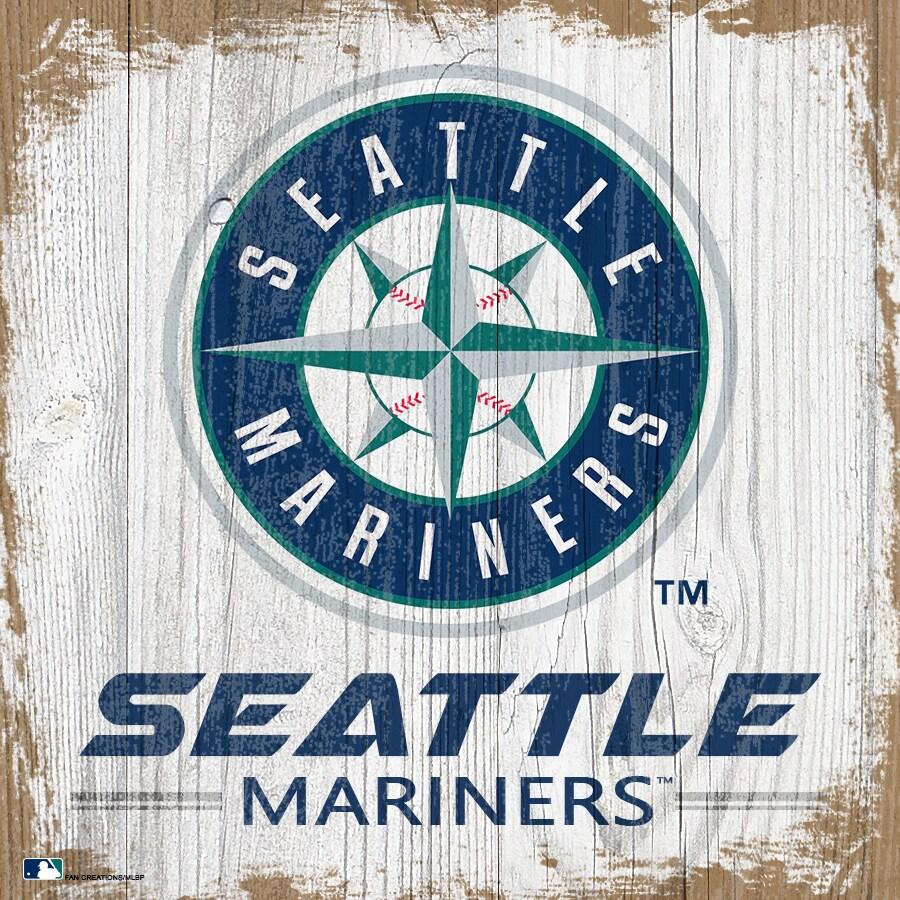 Seattle Mariners 6'' x 6'' Team Logo Block