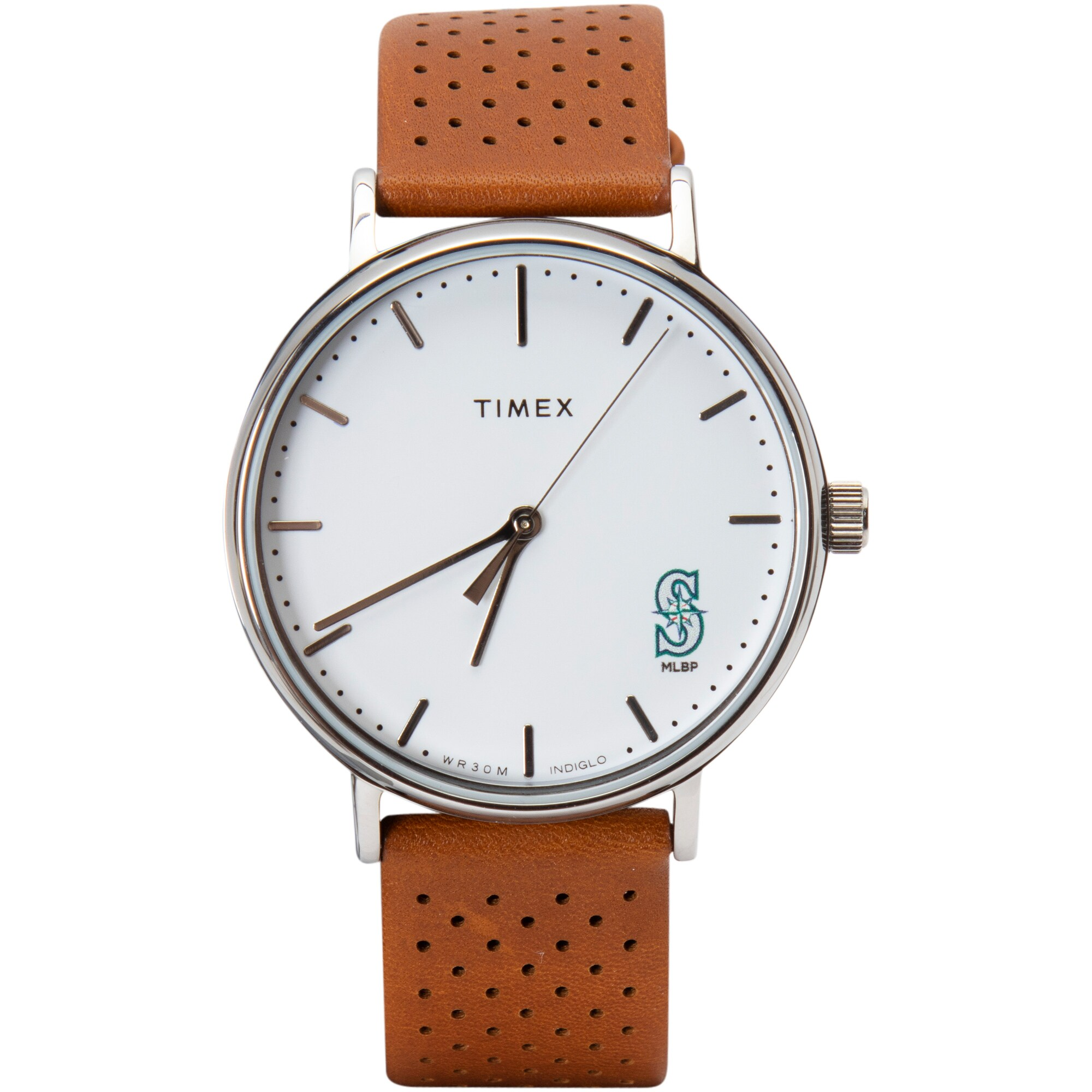 Seattle Mariners Timex Bright Whites Tribute Collection Watch
