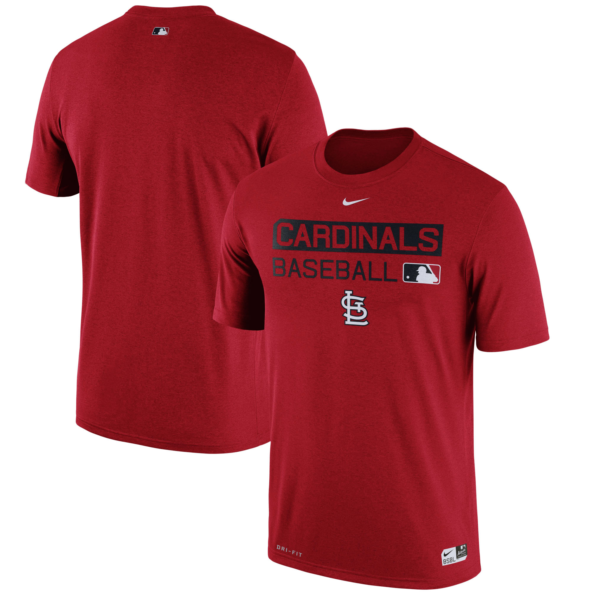 St. Louis Cardinals Nike Authentic Collection Legend Team Issue Performance T-Shirt - Red -