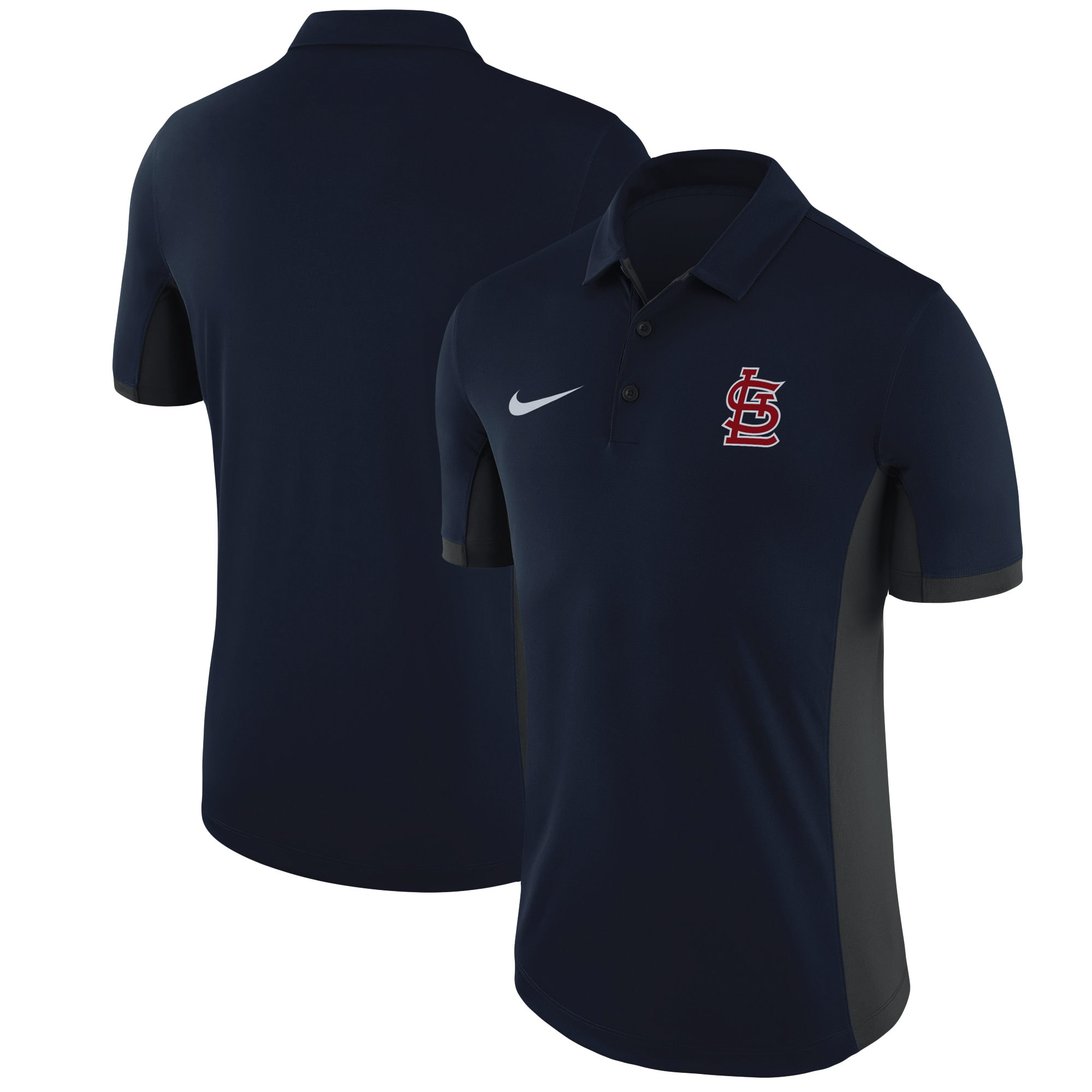 St. Louis Cardinals Nike Franchise Performance Polo - Navy