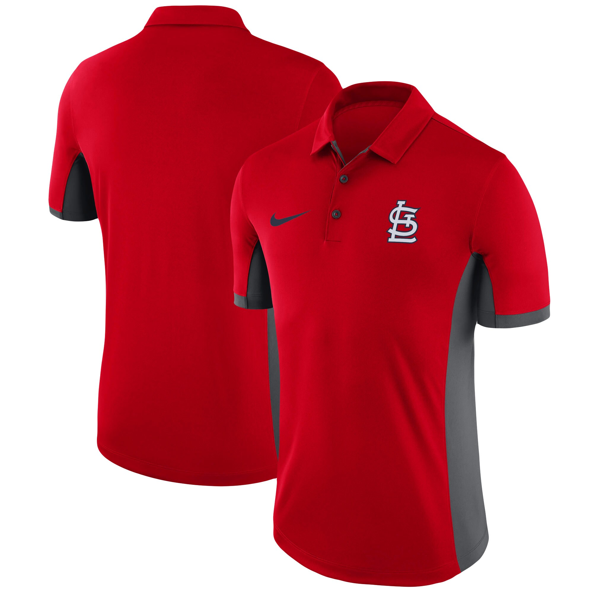 St. Louis Cardinals Nike Franchise Performance Polo - Red