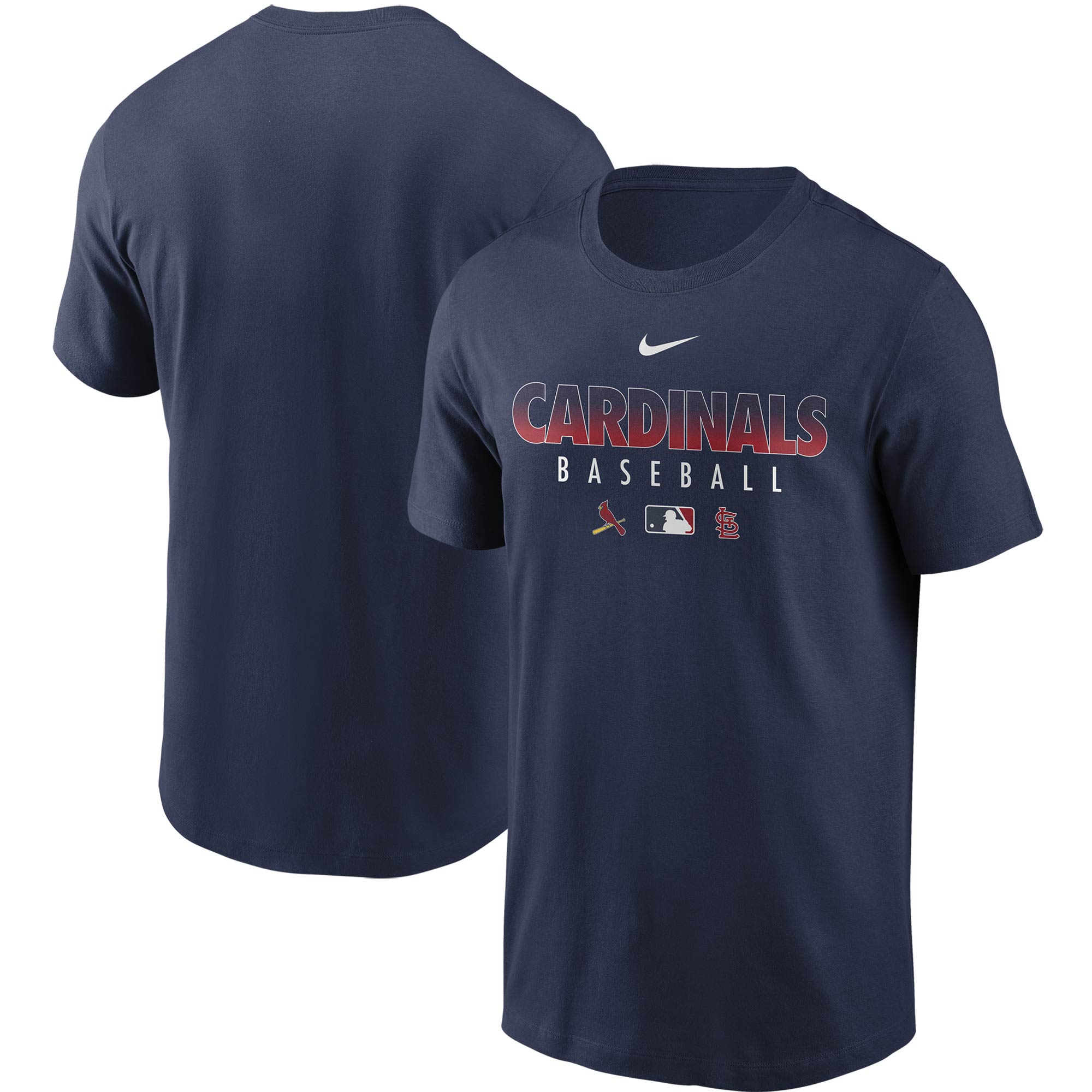 St. Louis Cardinals Nike Authentic Collection Team Performance T-Shirt - Navy